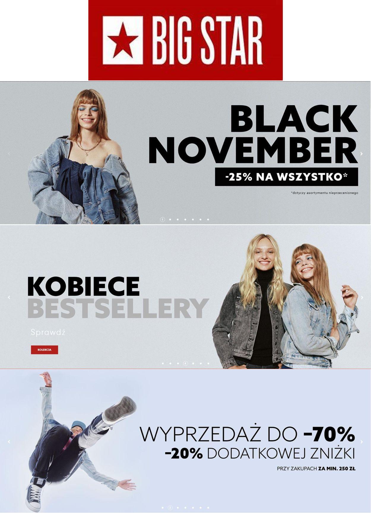Gazetka promocyjna Big Star Black Friday 2020 - 12.11-25.11.2020