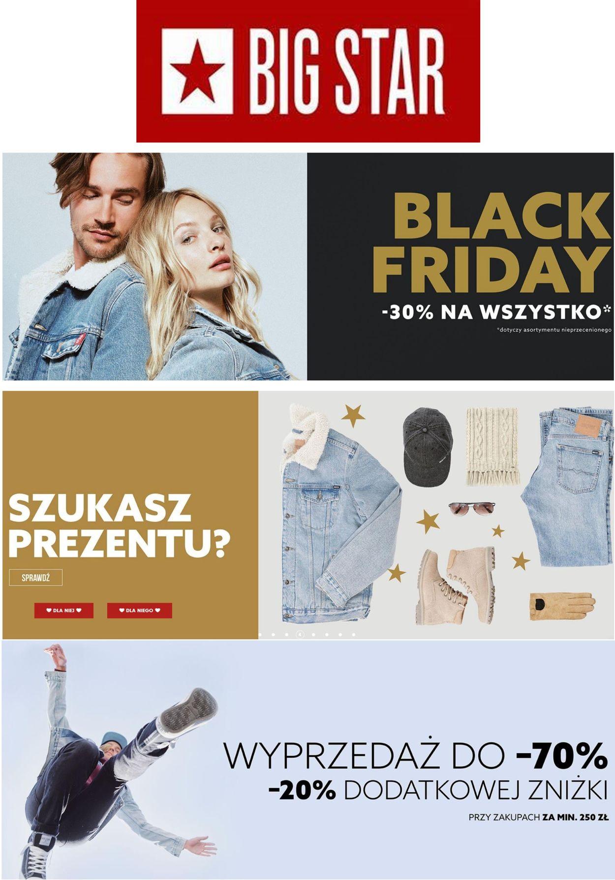Gazetka promocyjna Big Star Black Friday 2020 - 26.11-02.11.2021