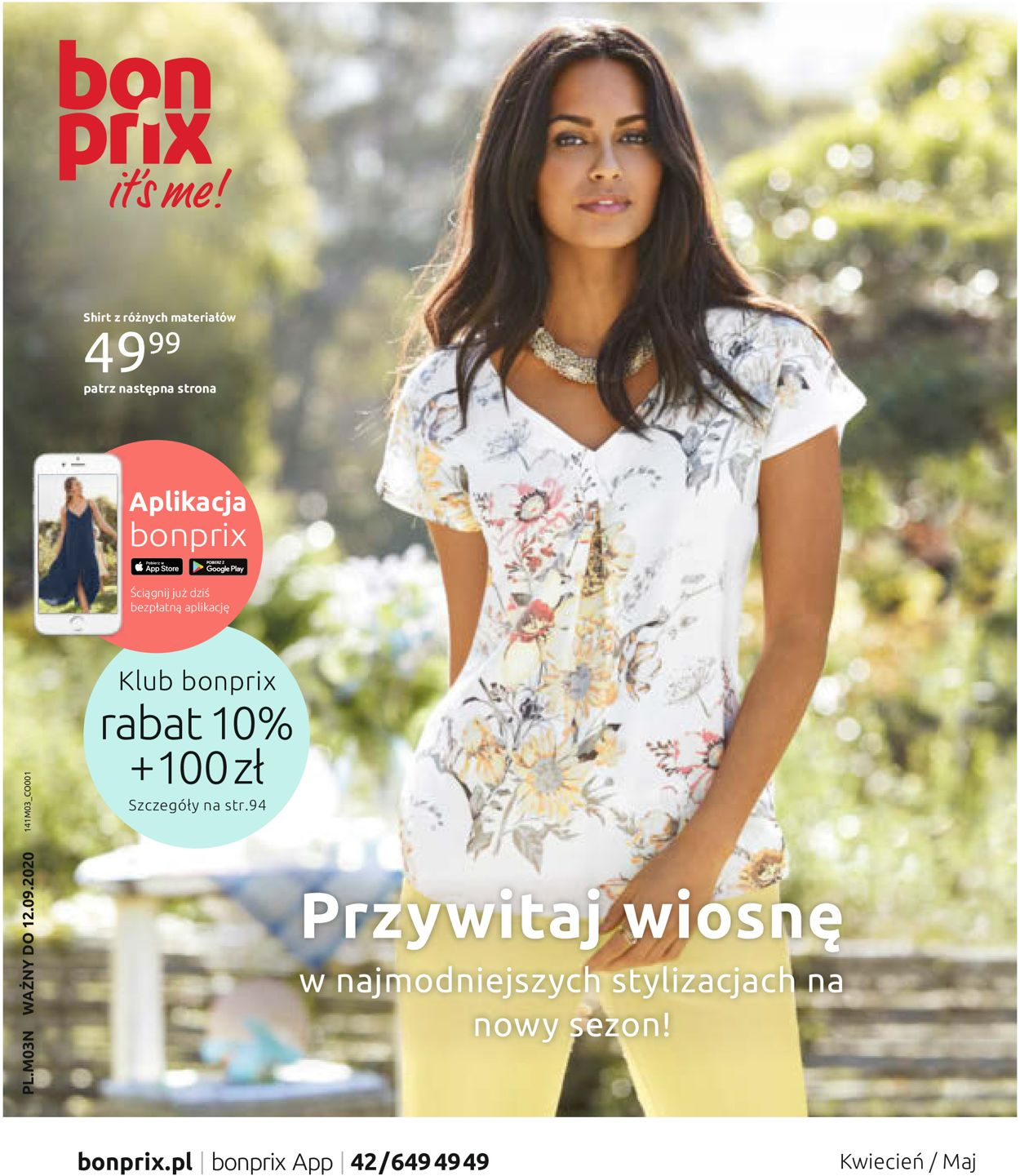 Gazetka promocyjna Bonprix - 18.03-16.05.2020