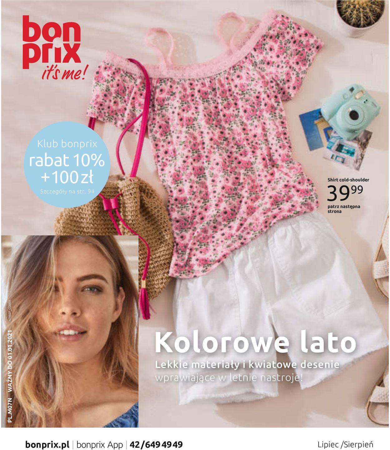 Gazetka promocyjna Bonprix - 01.07-31.08.2020