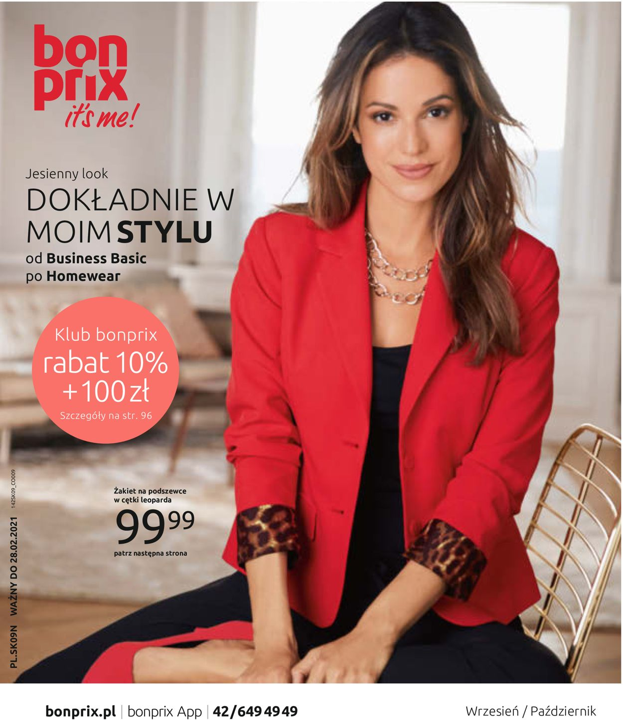 Gazetka promocyjna Bonprix - 01.09-30.10.2020