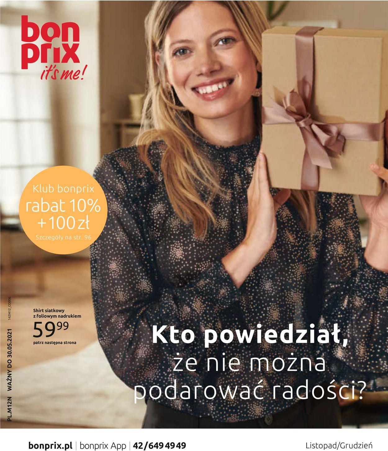 Gazetka promocyjna Bonprix - 30.11-12.01.2021