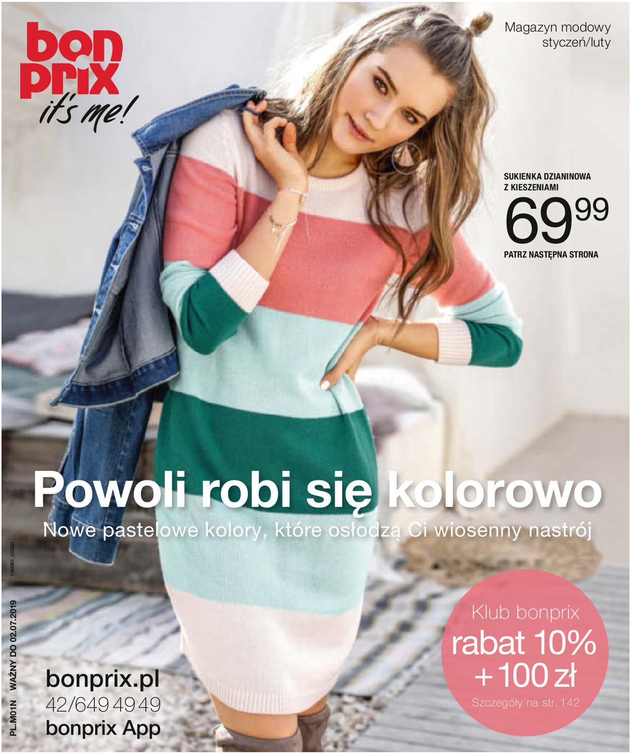 Gazetka promocyjna Bonprix - 02.01-02.07.2019