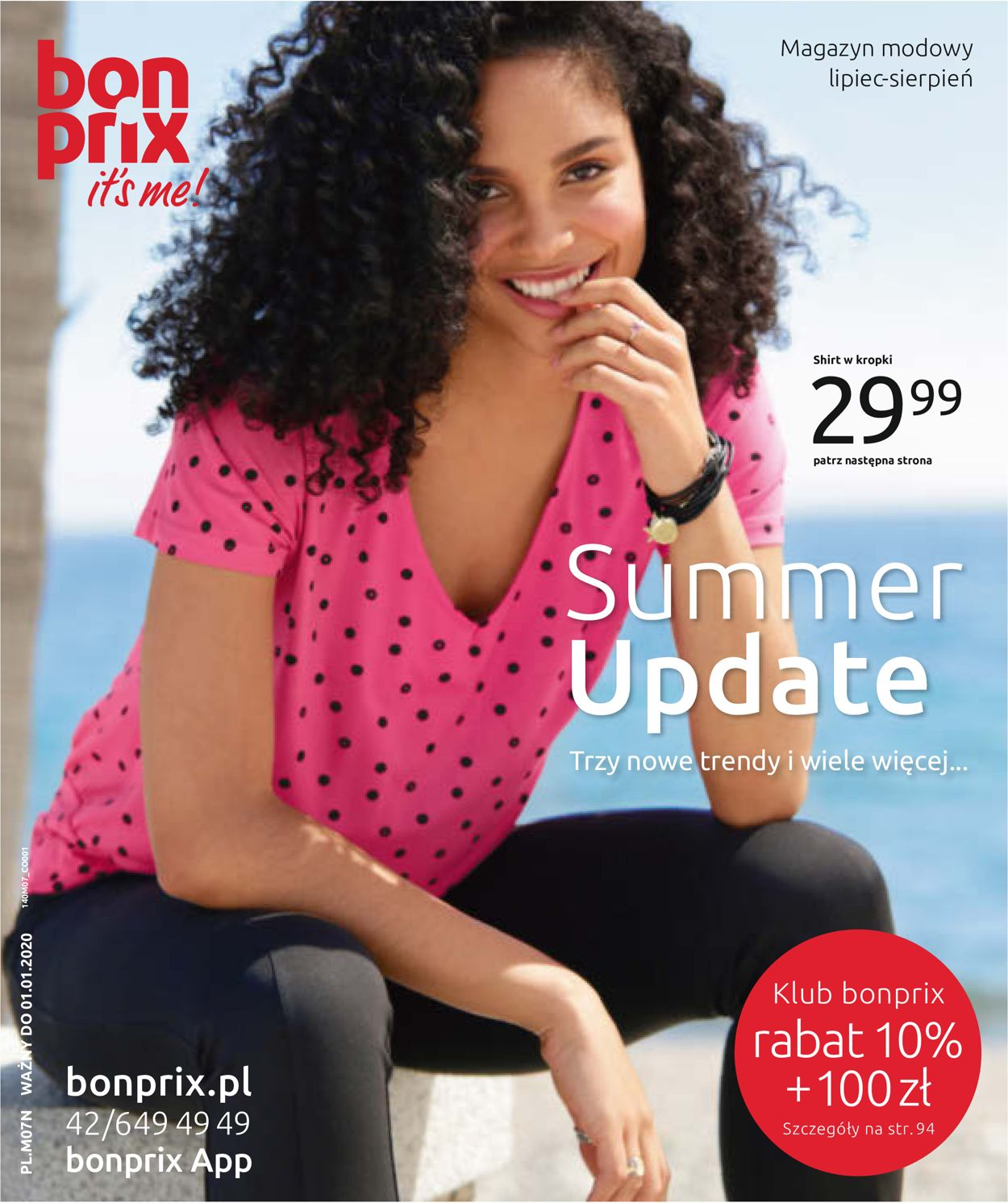 Gazetka promocyjna Bonprix - 22.07-31.08.2019