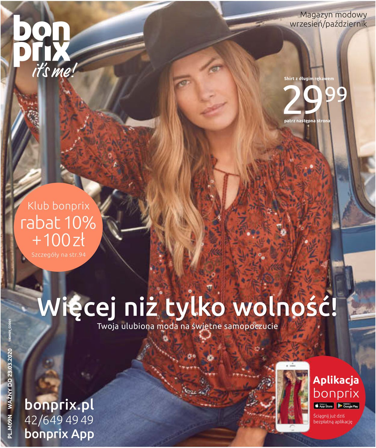 Gazetka promocyjna Bonprix - 23.09-03.11.2019