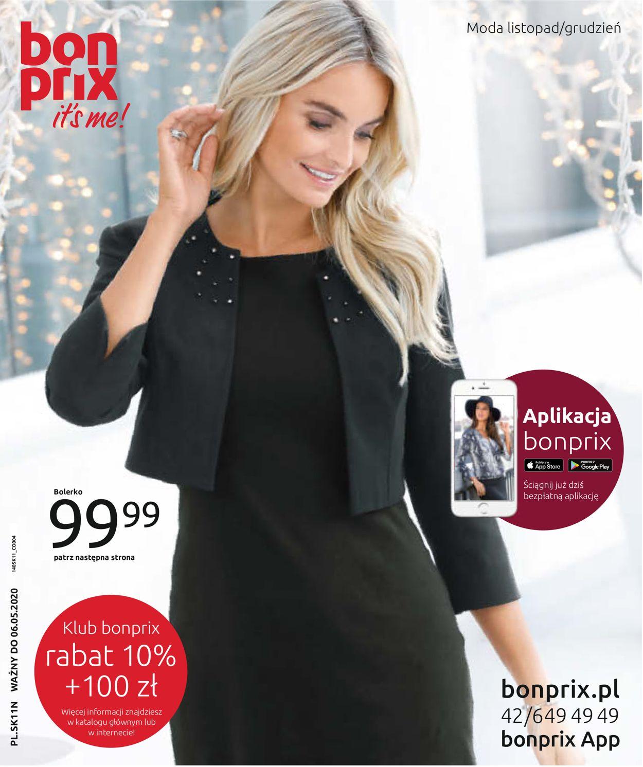 Gazetka promocyjna Bonprix - 06.11-06.05.2020