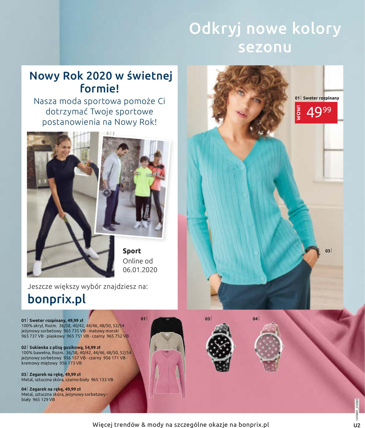 Gazetka promocyjna Bonprix - 01.01-29.02.2020 (Strona 2)