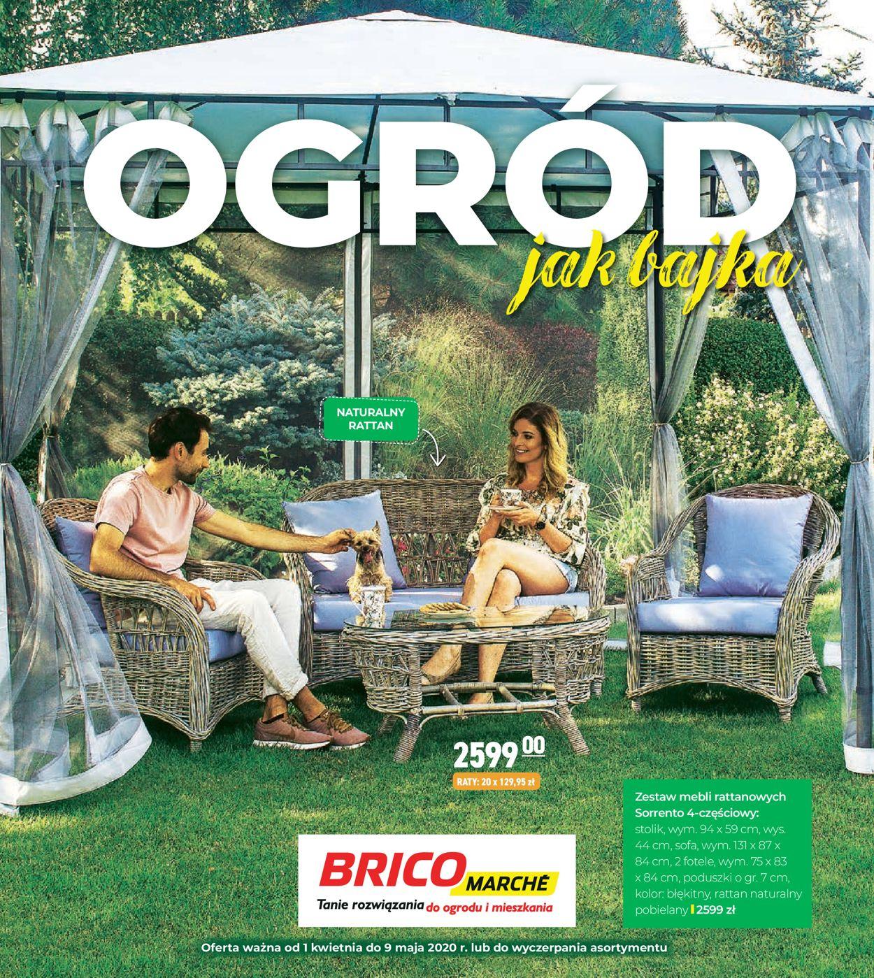 Gazetka promocyjna Bricomarché - 01.04-09.05.2020