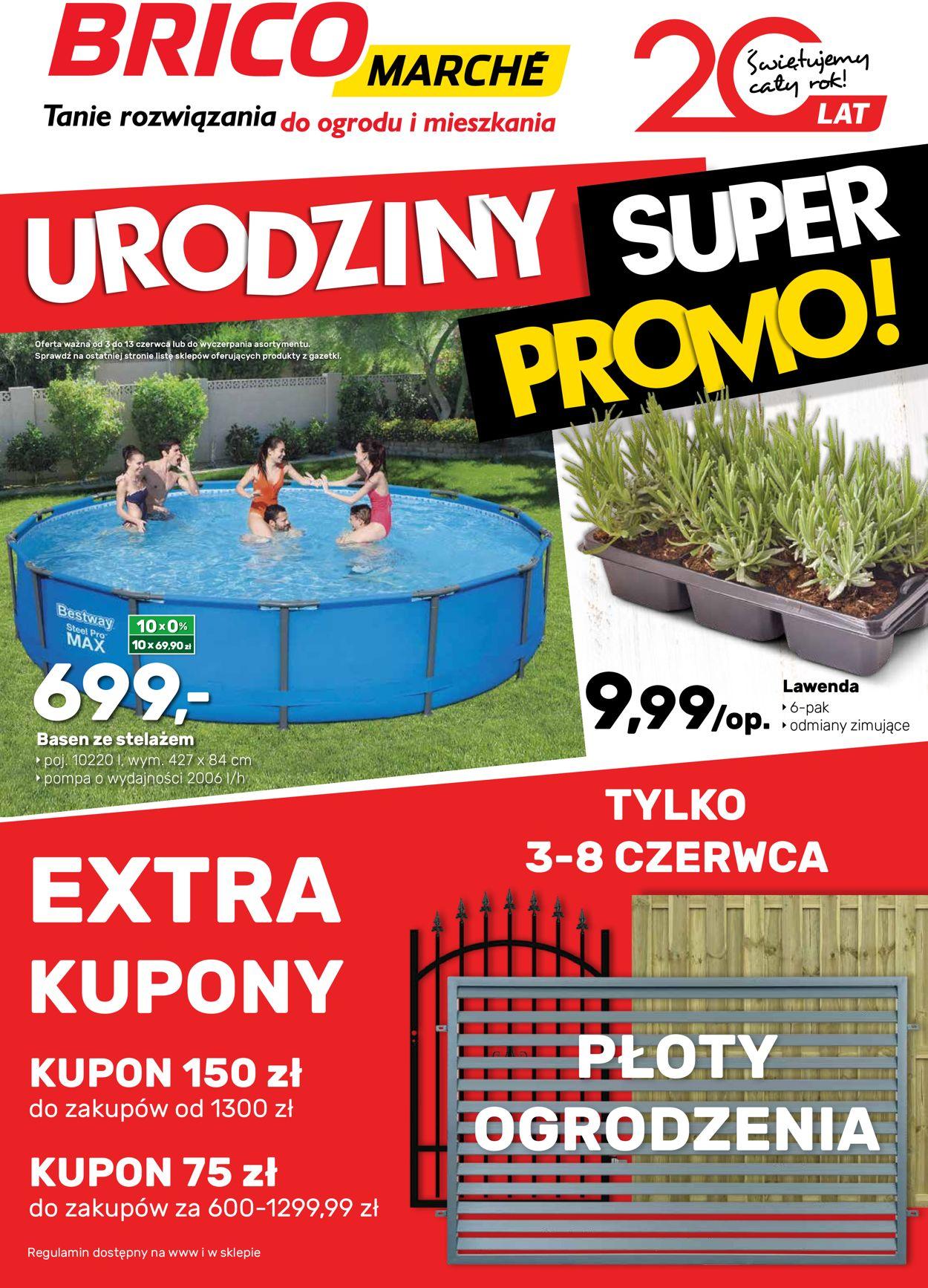 Gazetka promocyjna Bricomarché - 03.06-13.06.2020