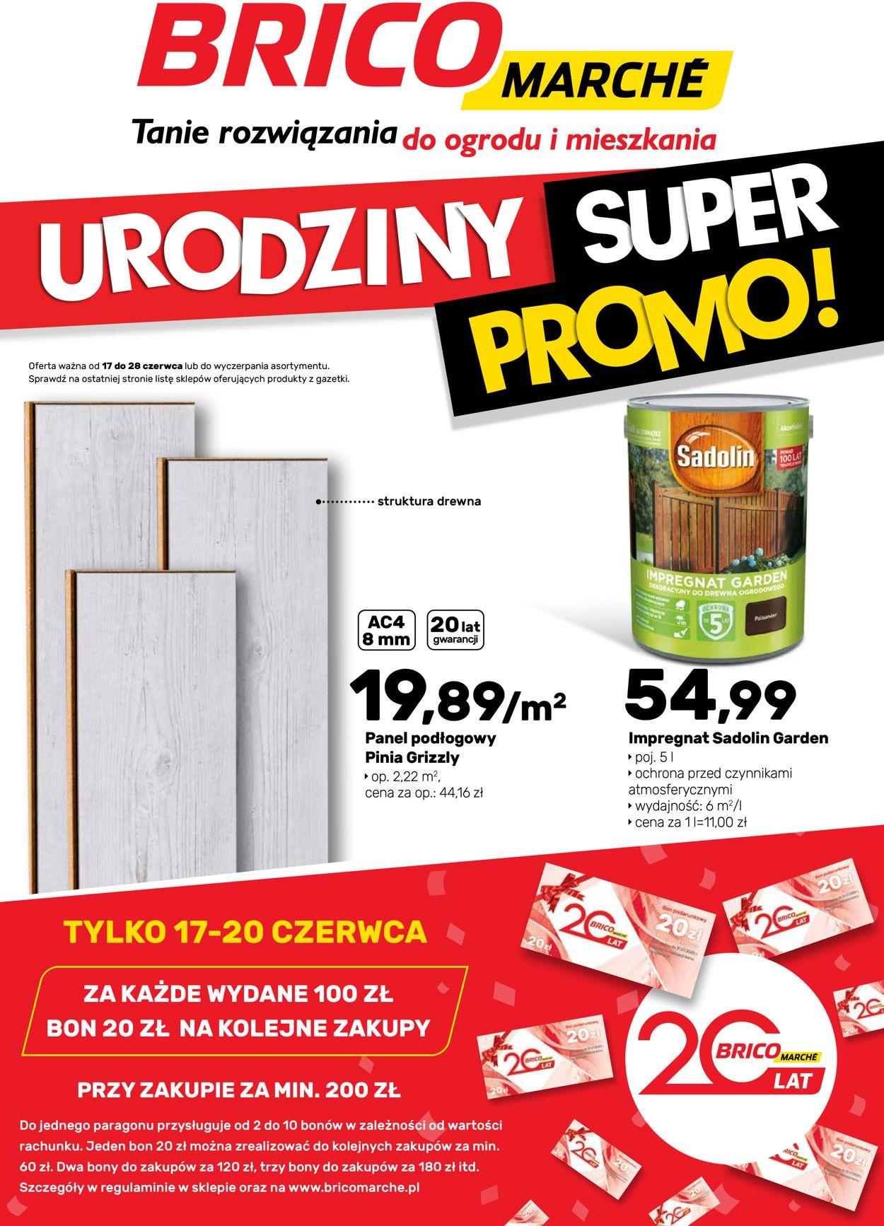 Gazetka promocyjna Bricomarché - 17.06-28.06.2020