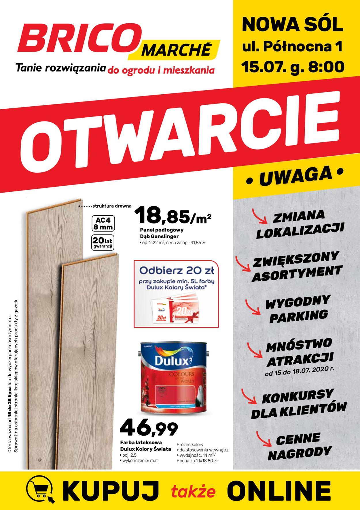 Gazetka promocyjna Bricomarché - 15.07-25.07.2020