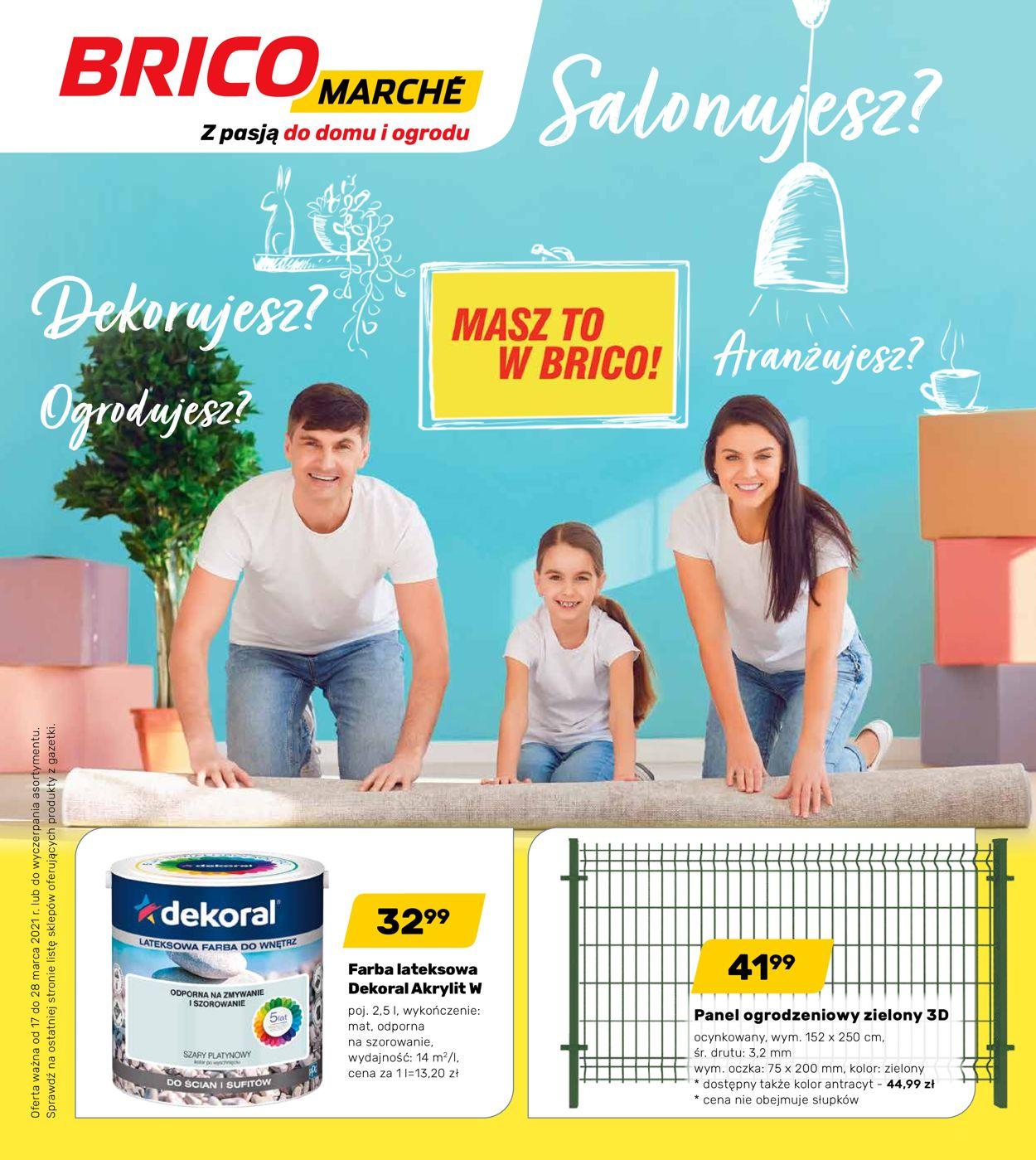 Gazetka promocyjna Bricomarché - 17.03-28.03.2021