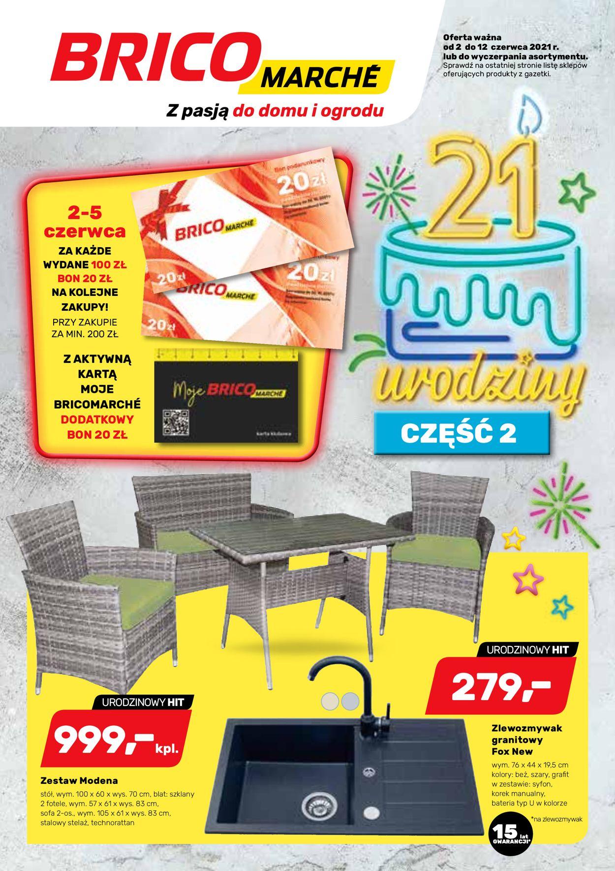 Gazetka promocyjna Bricomarché - 02.06-12.06.2021