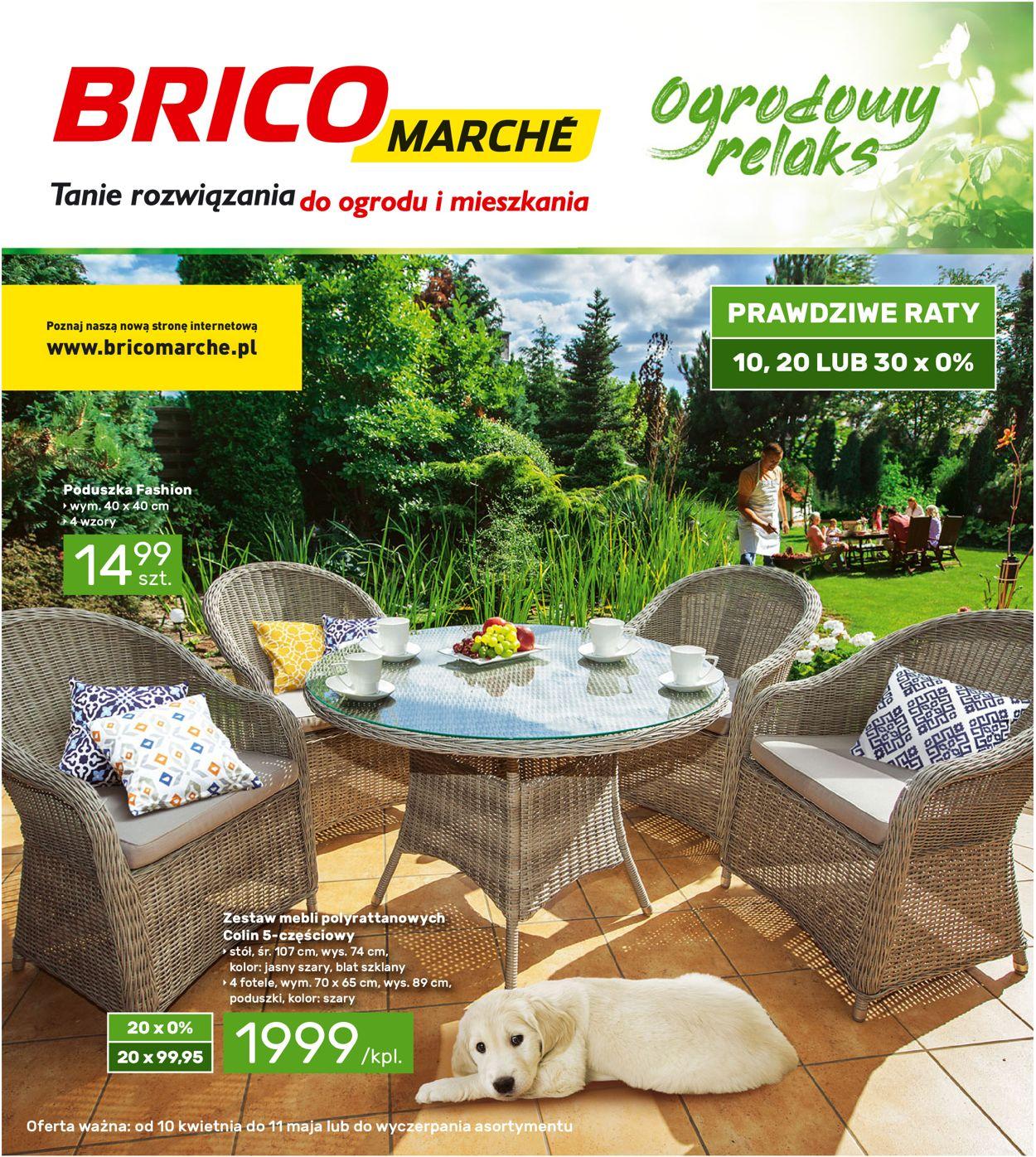 Gazetka promocyjna Bricomarché - 10.04-11.05.2019
