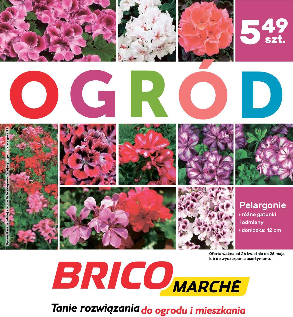 Gazetka promocyjna Bricomarché - 26.04-26.05.2019