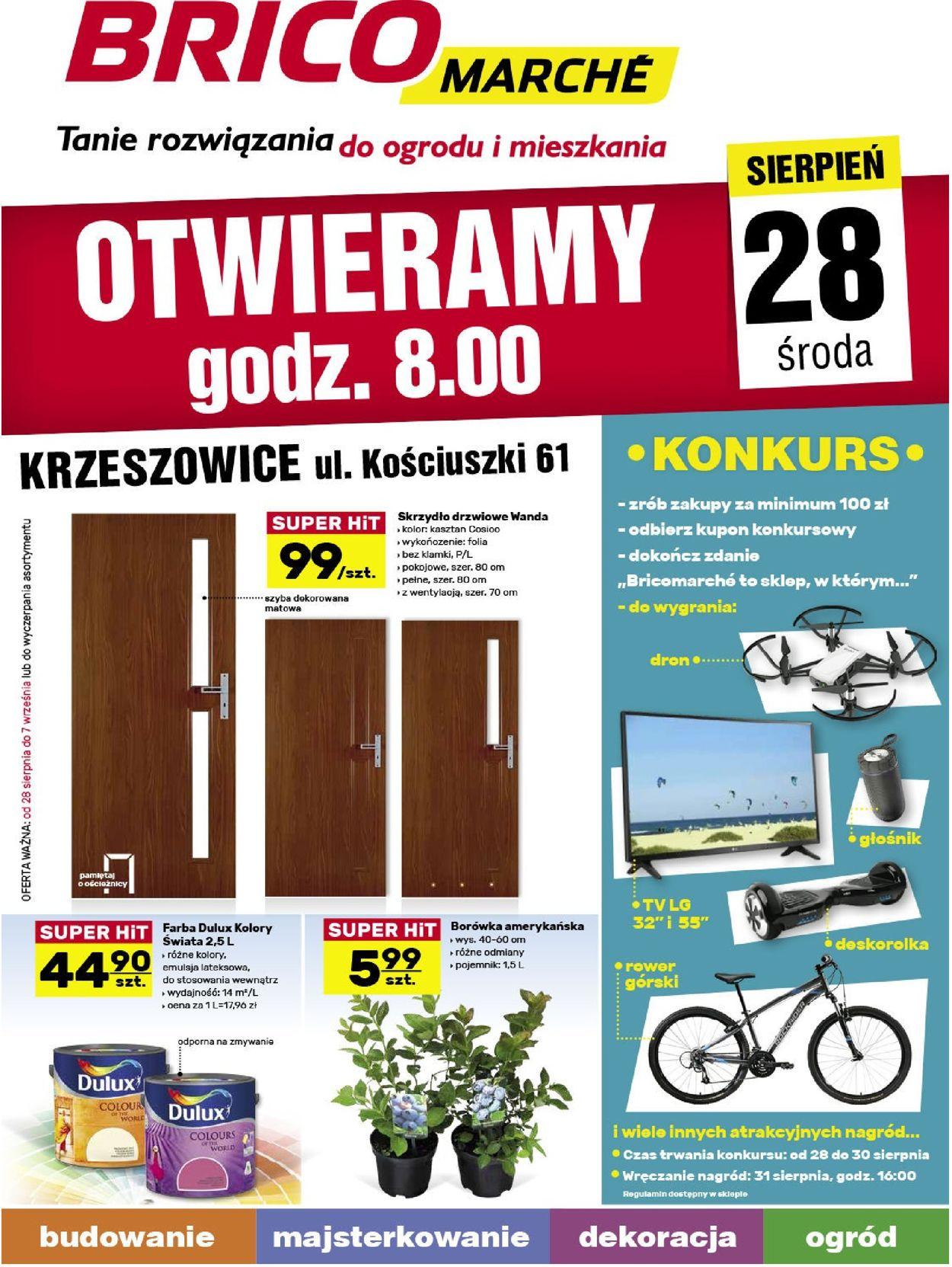 Gazetka promocyjna Bricomarché - 28.08-07.09.2019