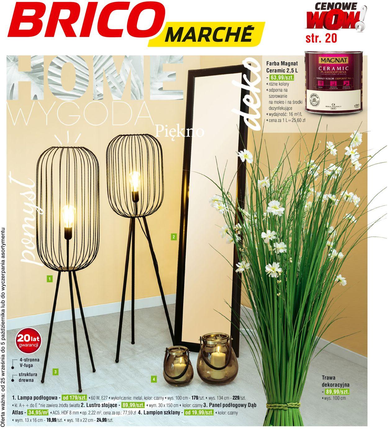 Gazetka promocyjna Bricomarché - 25.09-05.10.2019