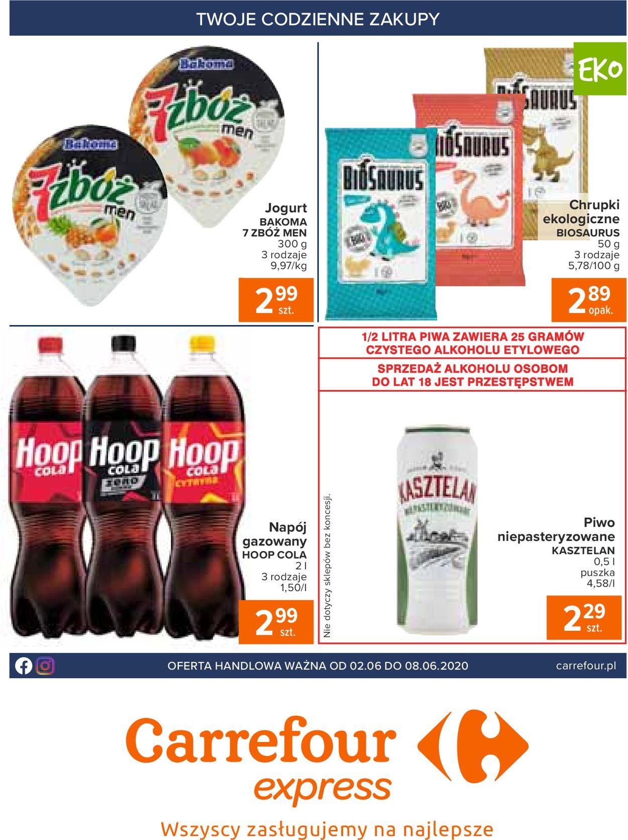 Gazetka promocyjna Carrefour Express - 02.06-08.06.2020 (Strona 2)