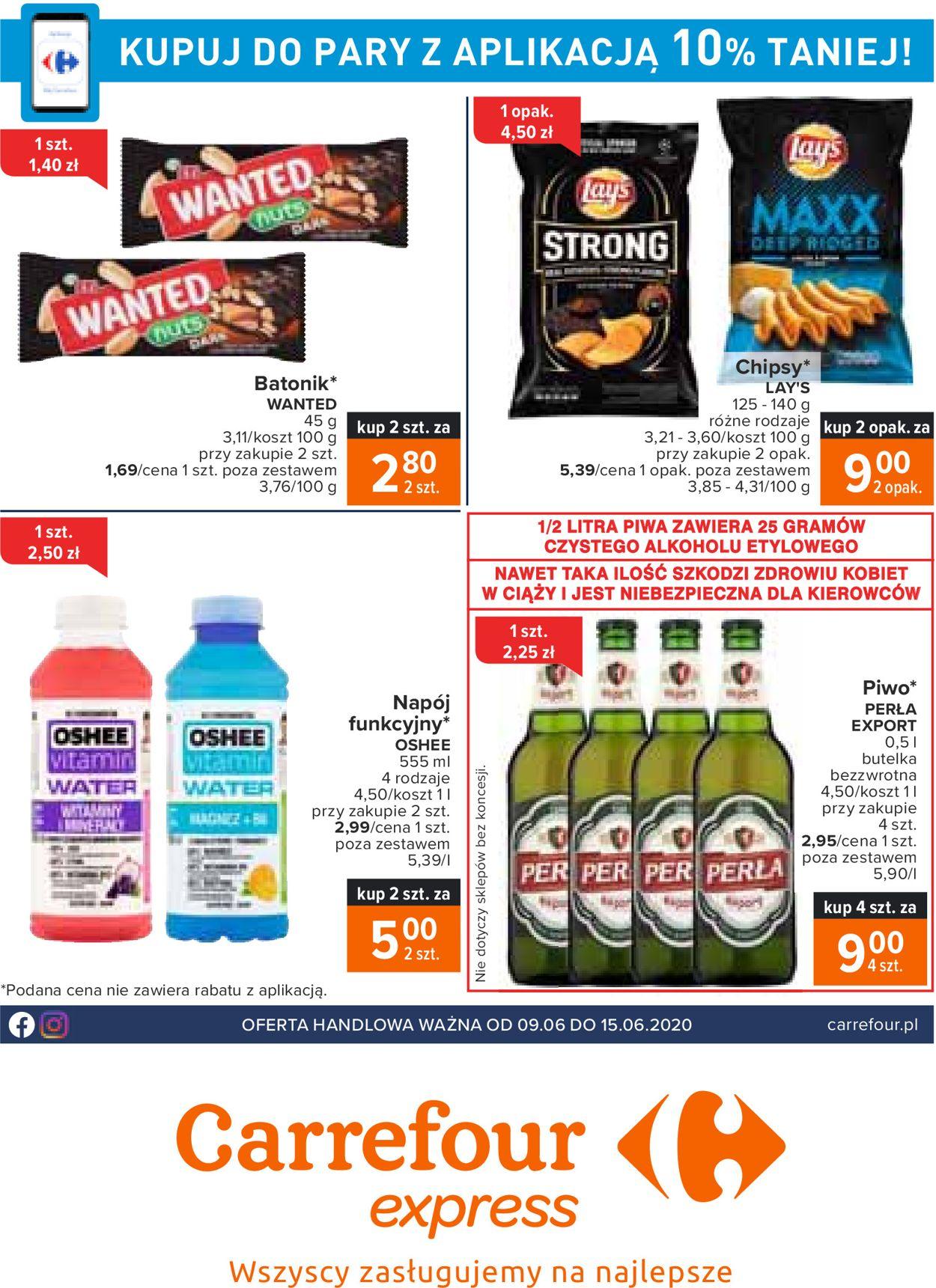 Gazetka promocyjna Carrefour Express - 09.06-15.06.2020