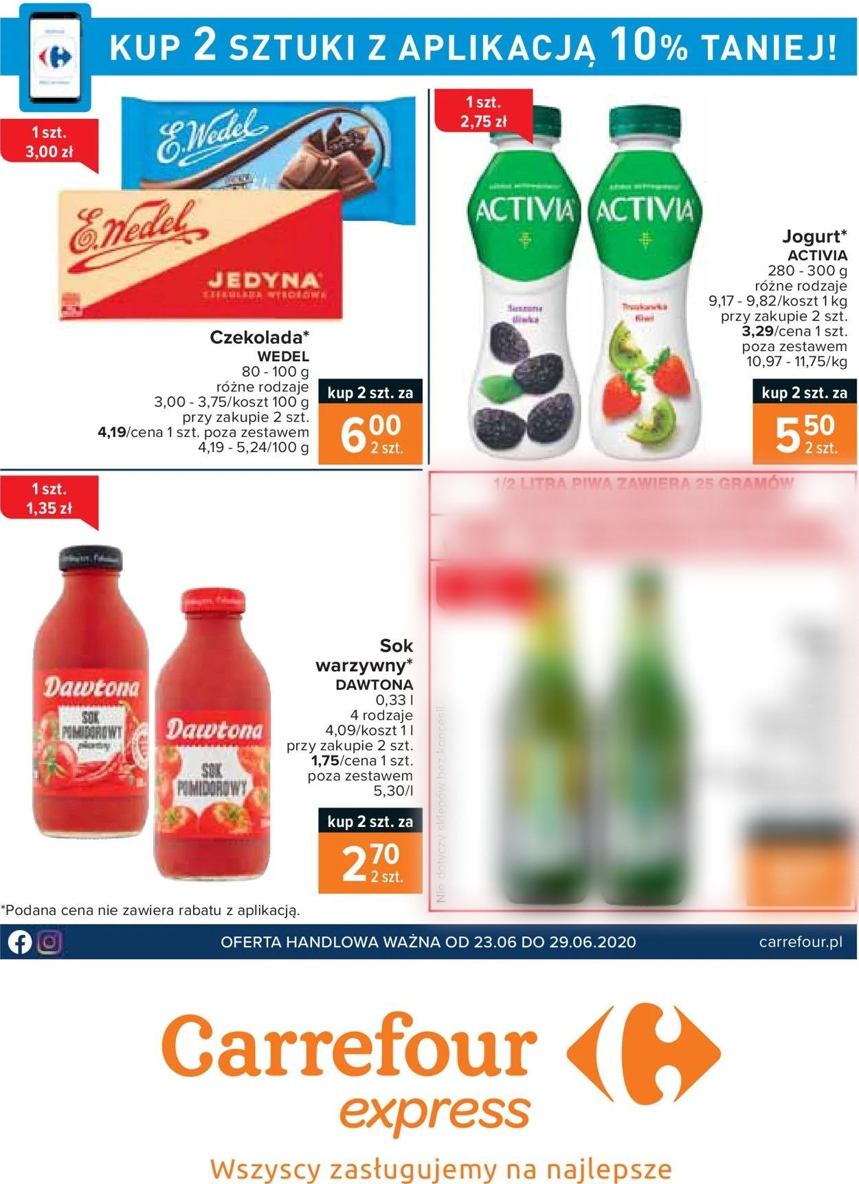 Gazetka promocyjna Carrefour Express - 23.06-29.06.2020