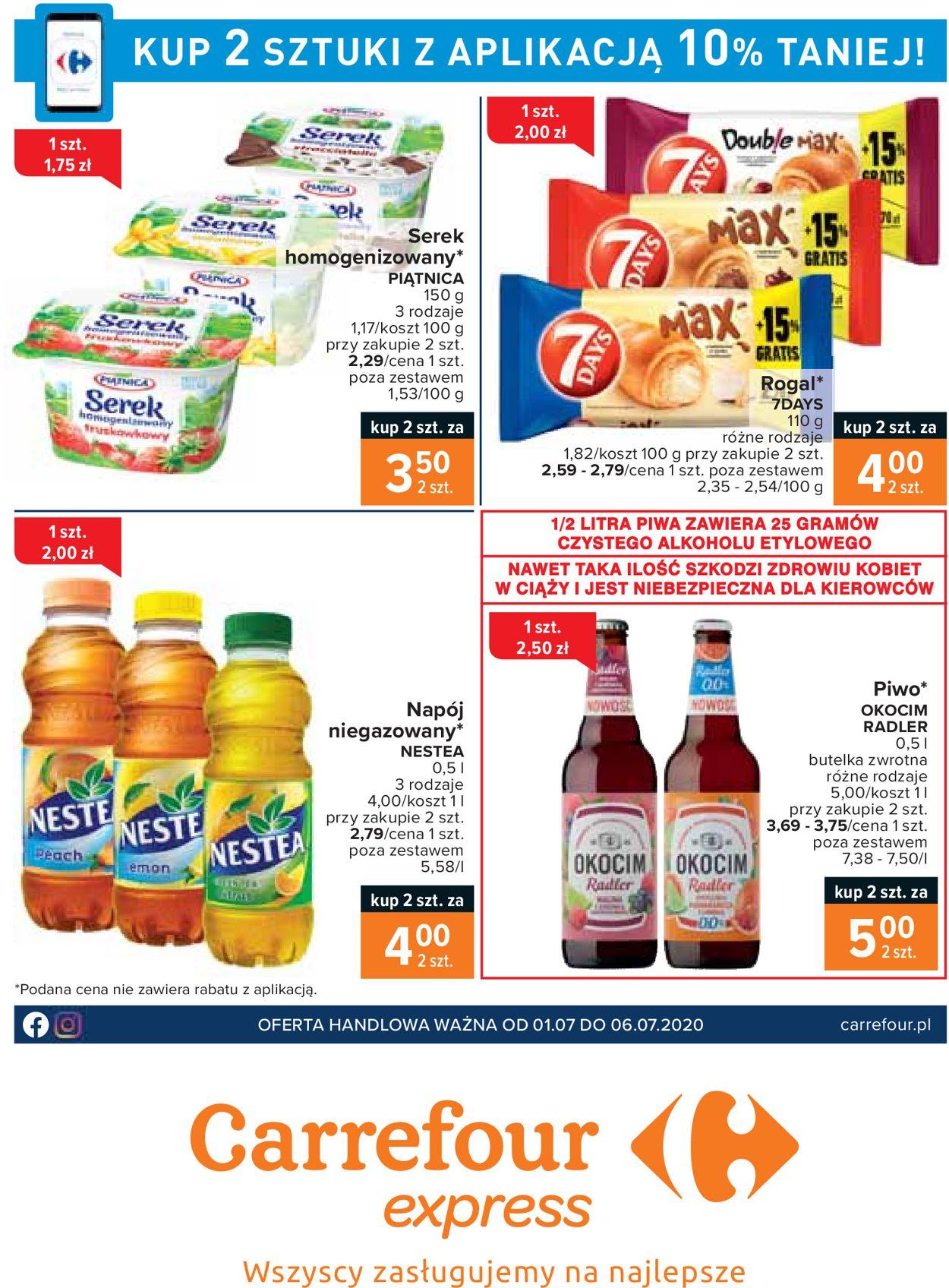 Gazetka promocyjna Carrefour Express - 01.07-06.07.2020