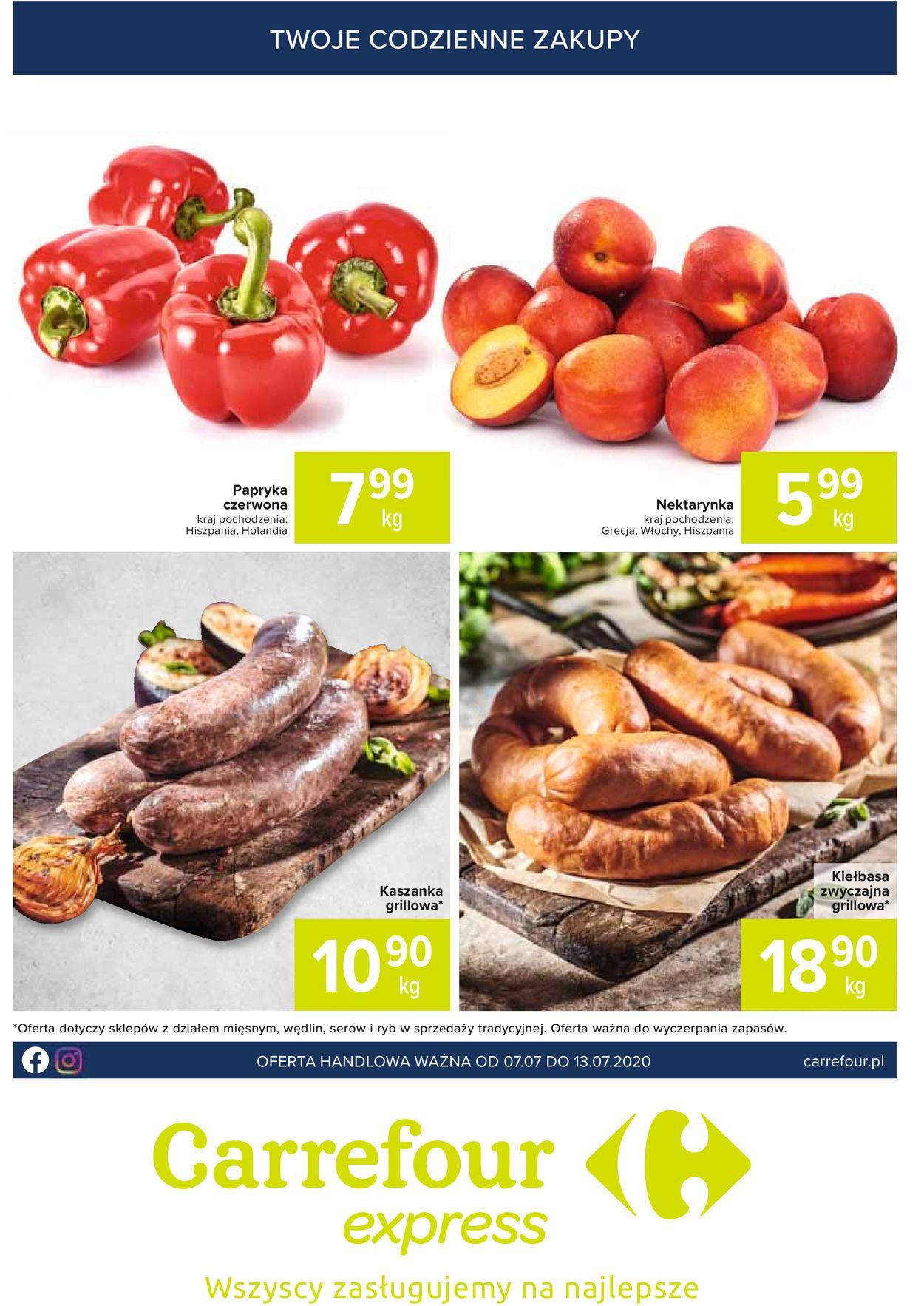 Gazetka promocyjna Carrefour Express - 07.07-13.07.2020
