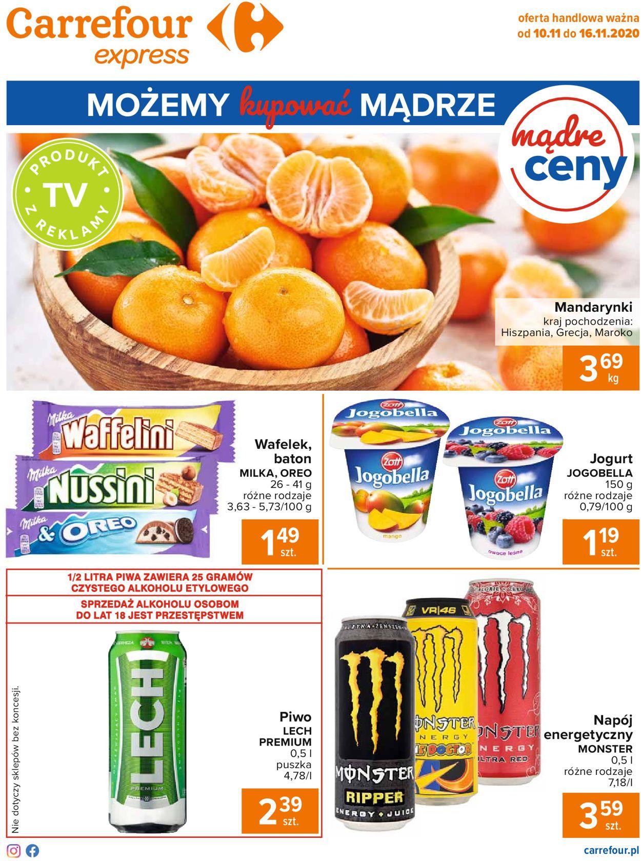 Gazetka promocyjna Carrefour Express - 10.11-16.11.2020 (Strona 2)