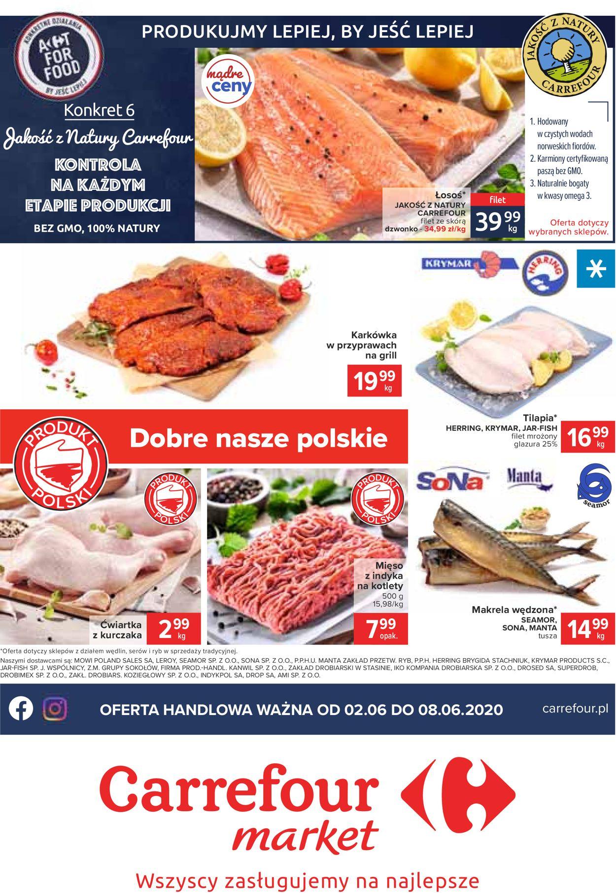 Gazetka promocyjna Carrefour Market - 02.06-08.06.2020