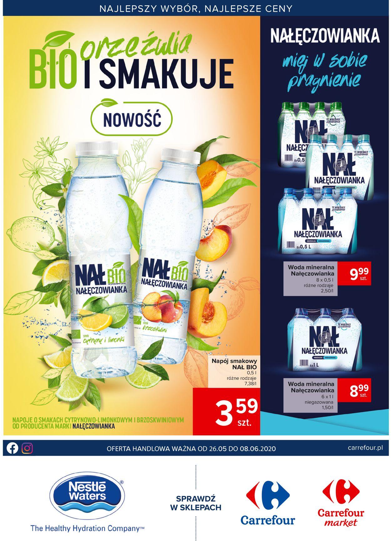 Gazetka promocyjna Carrefour Market - 26.05-08.06.2020