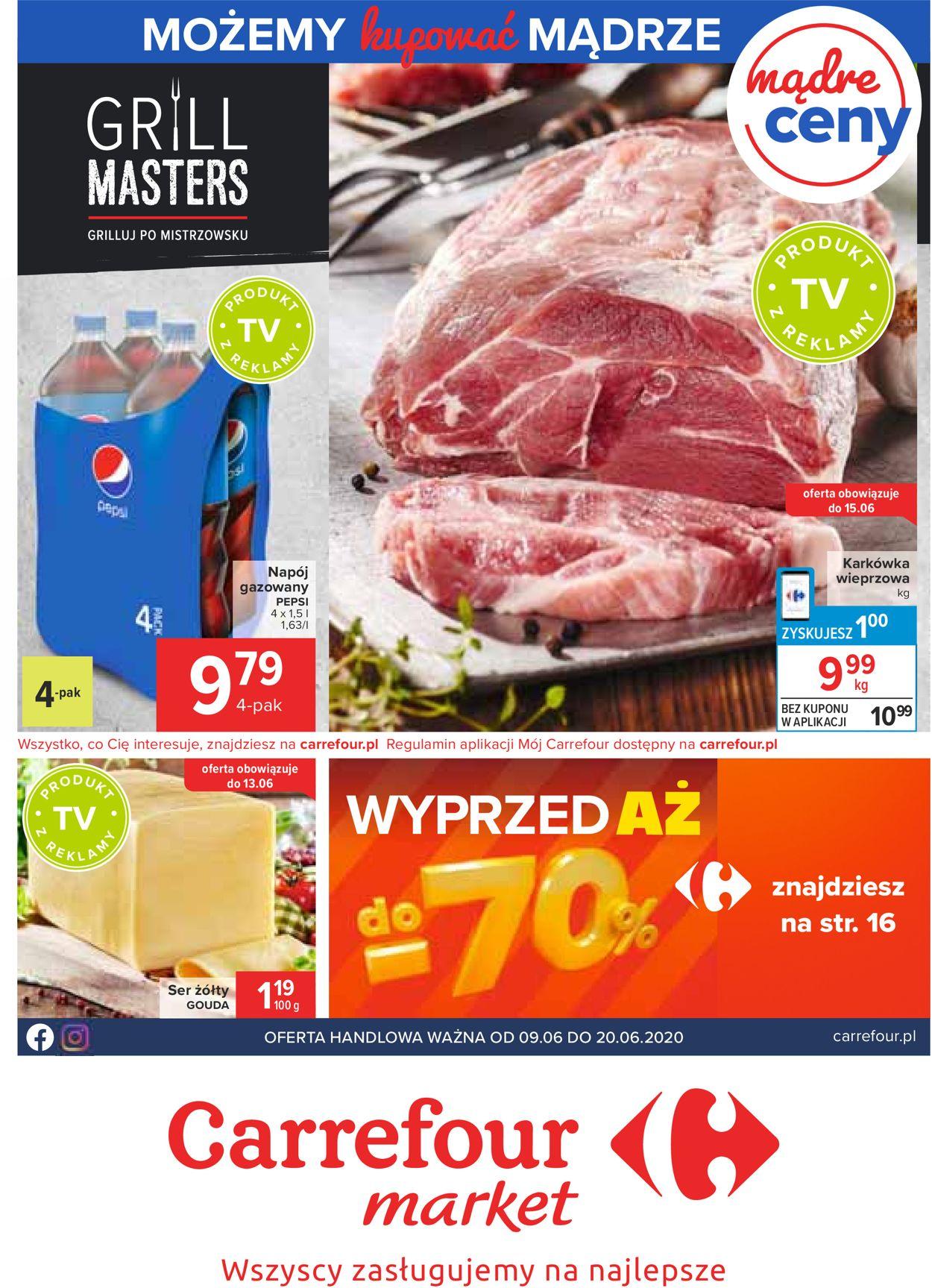 Gazetka promocyjna Carrefour Market - 09.06-20.06.2020
