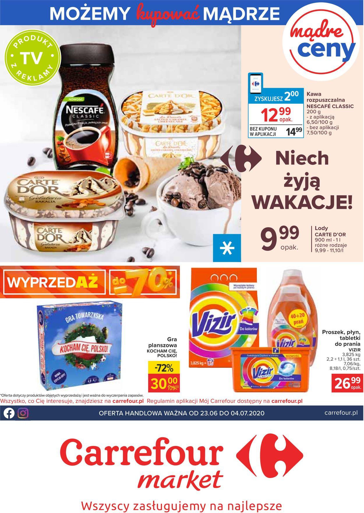Gazetka promocyjna Carrefour Market - 23.06-04.07.2020