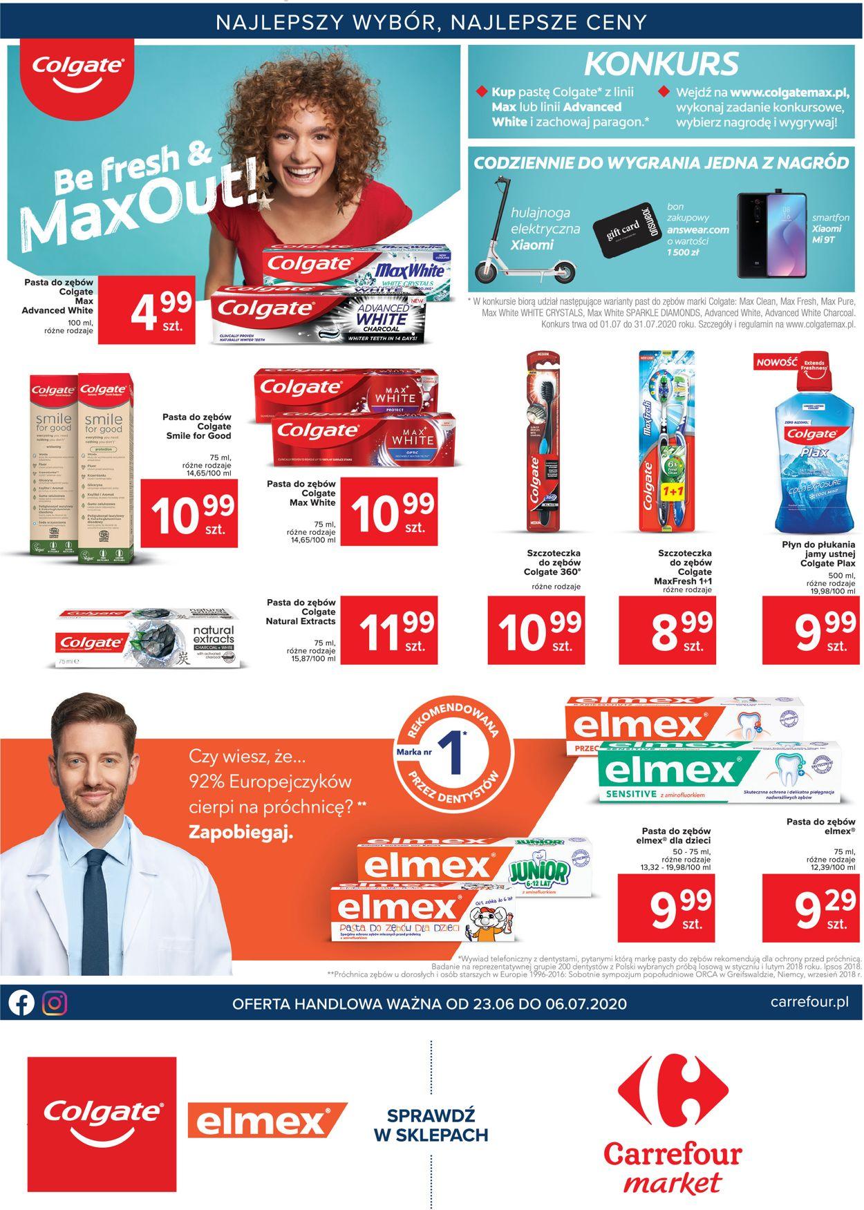Gazetka promocyjna Carrefour Market - 23.06-06.07.2020