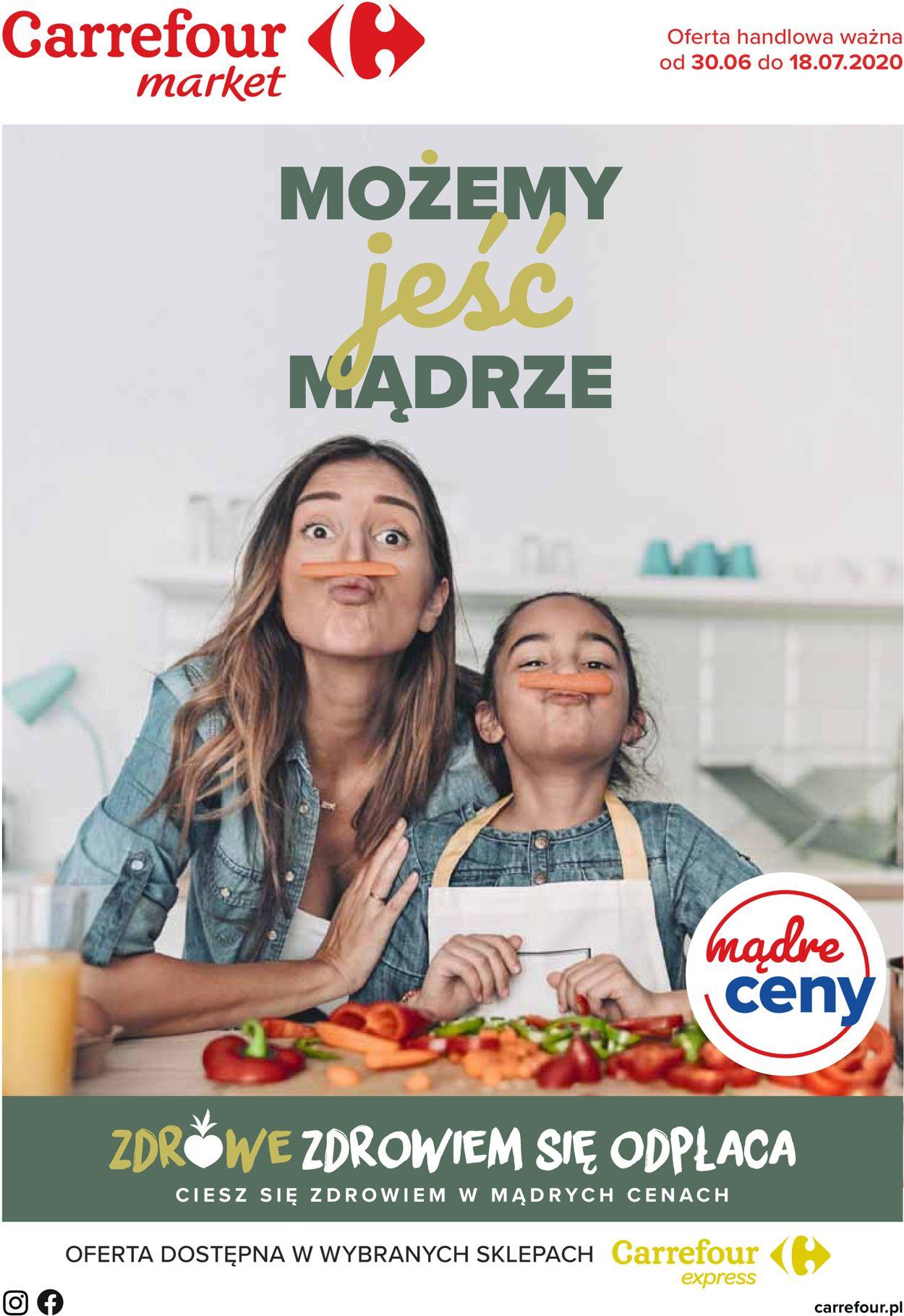 Gazetka promocyjna Carrefour Market - 30.06-18.07.2020