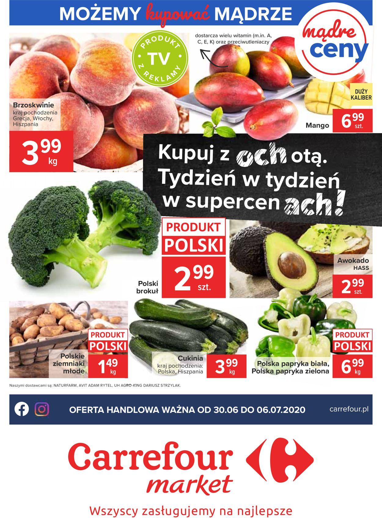 Gazetka promocyjna Carrefour Market - 30.06-06.07.2020