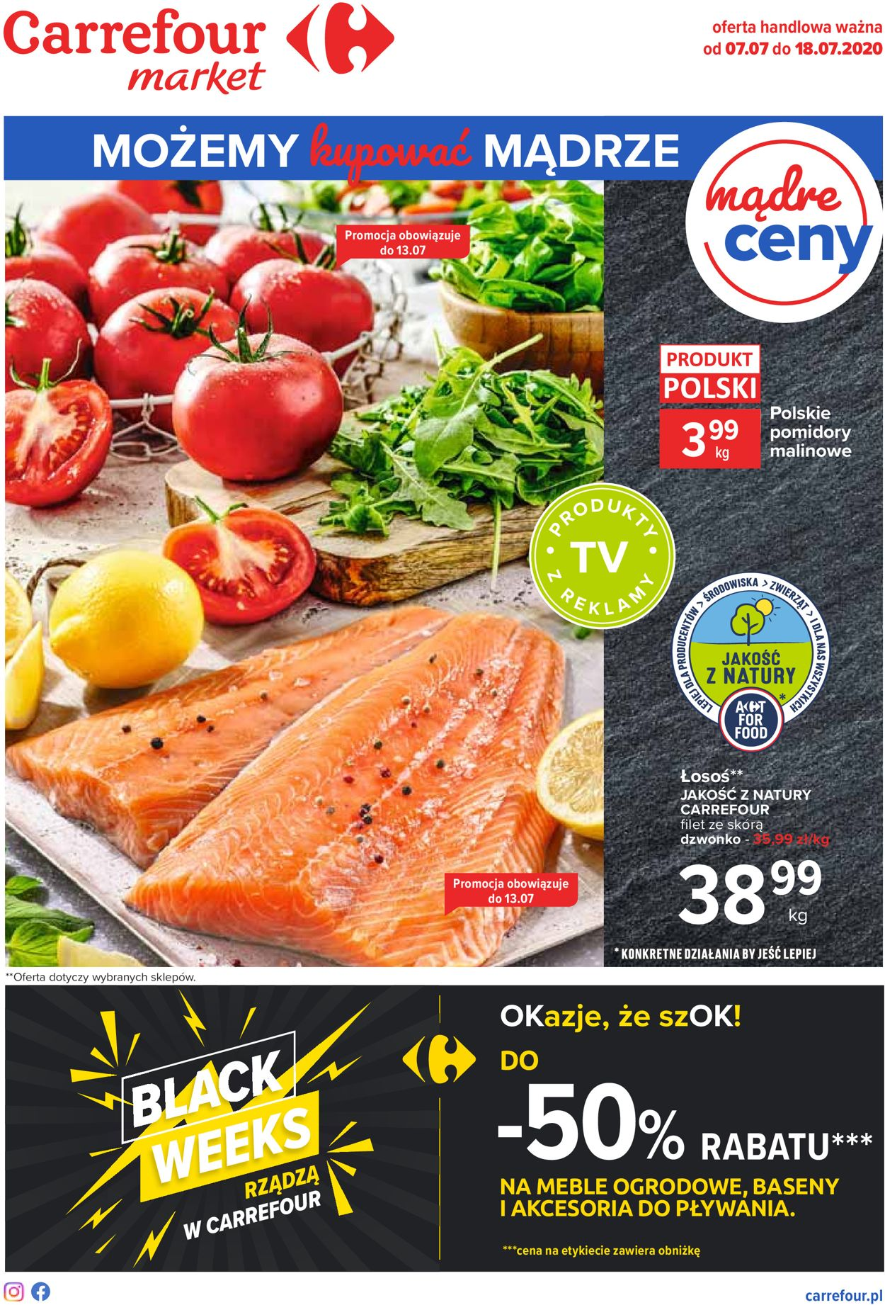Gazetka promocyjna Carrefour Market - 07.07-18.07.2020