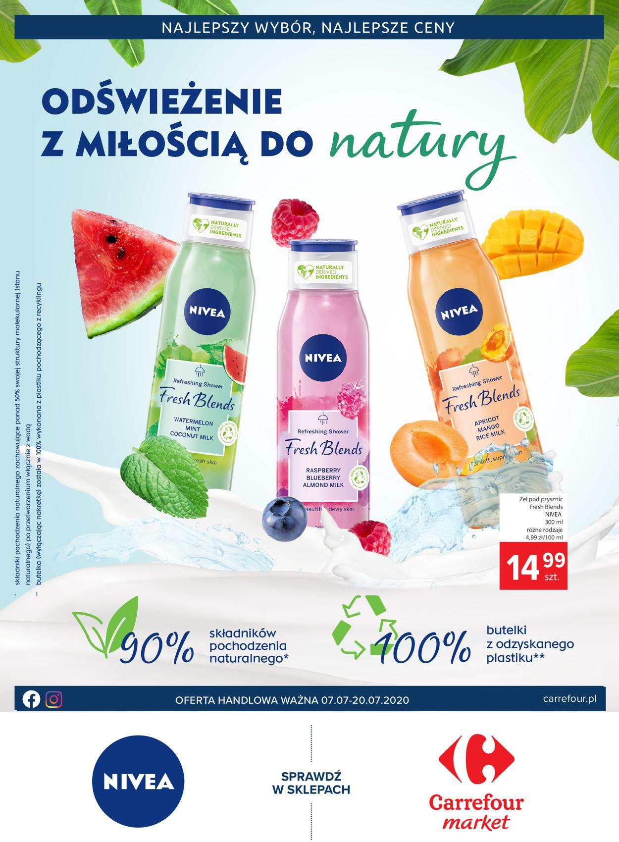 Gazetka promocyjna Carrefour Market - 07.07-20.07.2020