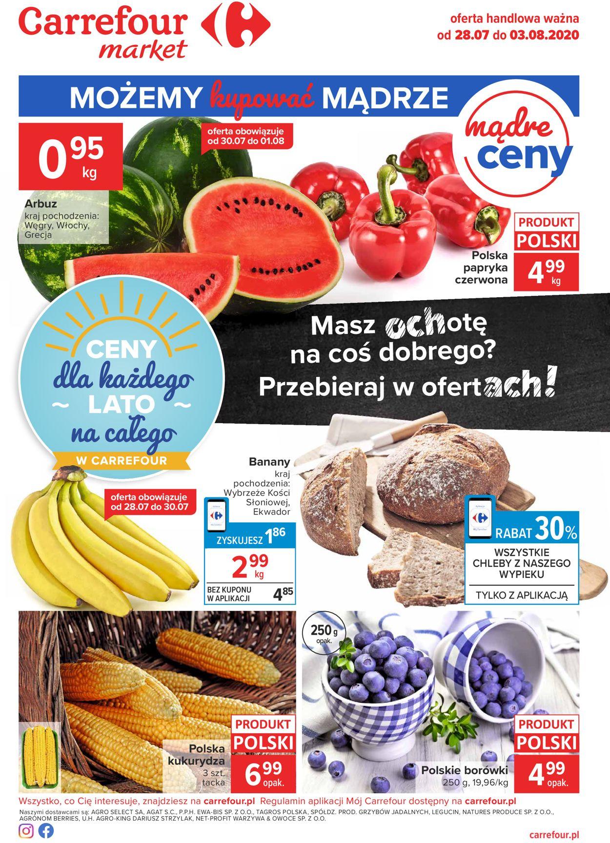 Gazetka promocyjna Carrefour Market - 28.07-03.08.2020