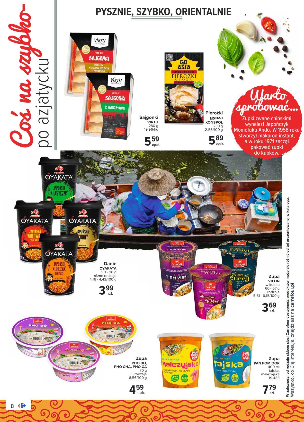 Gazetka promocyjna Carrefour Market - 04.08-14.08.2020 (Strona 8)