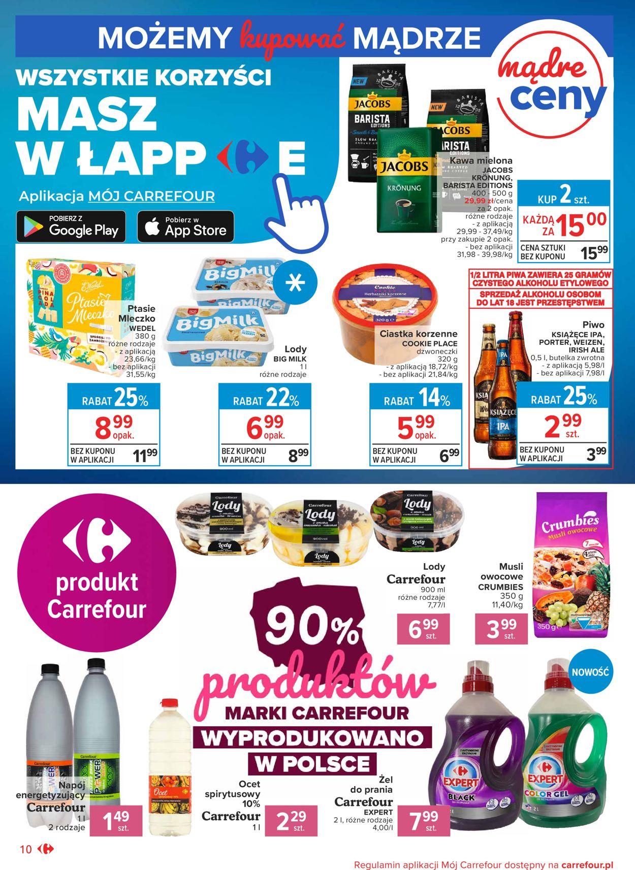 Gazetka promocyjna Carrefour Market - 04.08-14.08.2020 (Strona 10)