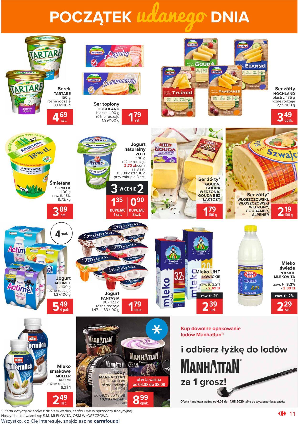Gazetka promocyjna Carrefour Market - 04.08-14.08.2020 (Strona 11)