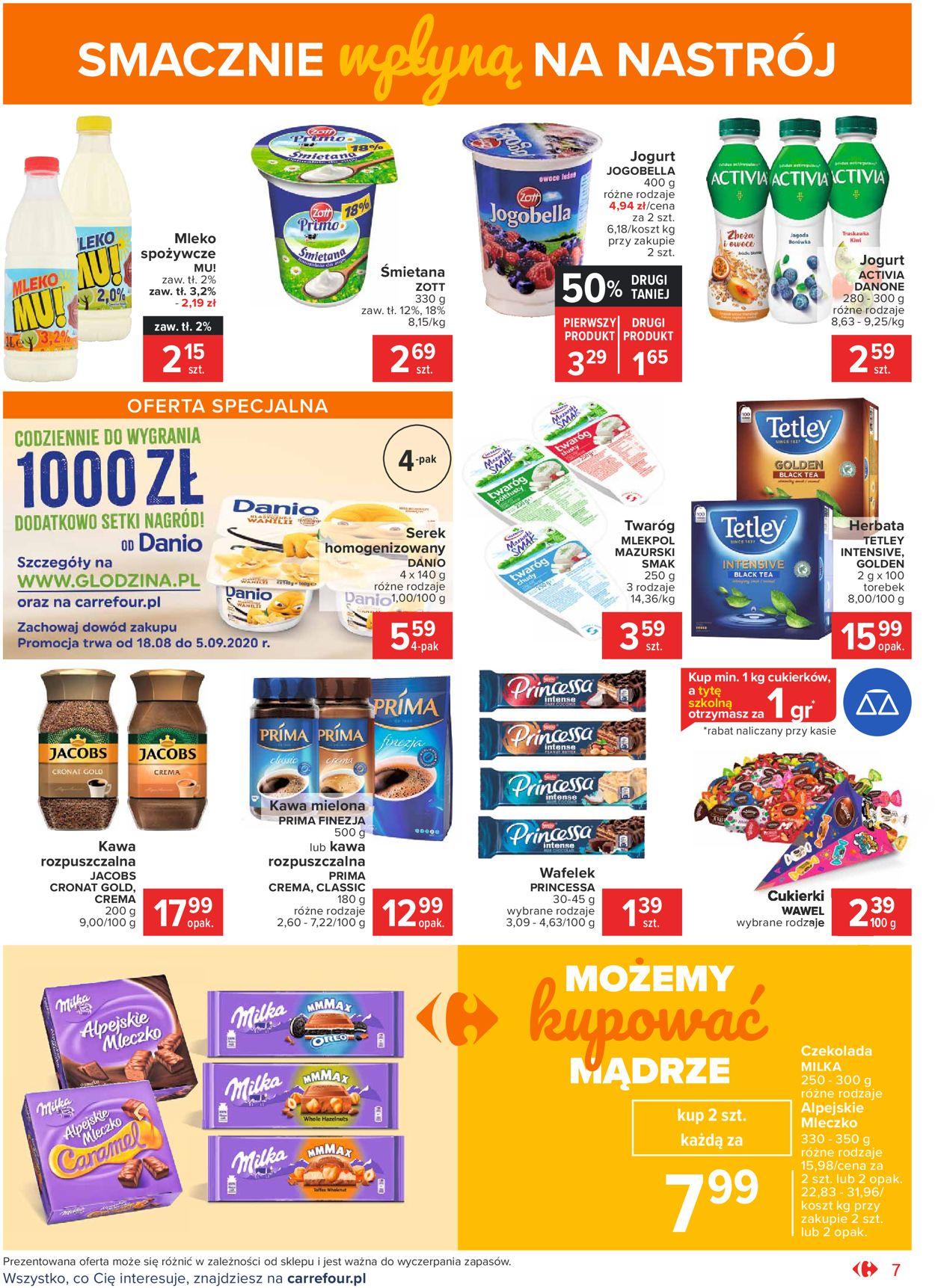 Gazetka promocyjna Carrefour Market - 18.08-30.08.2020 (Strona 7)
