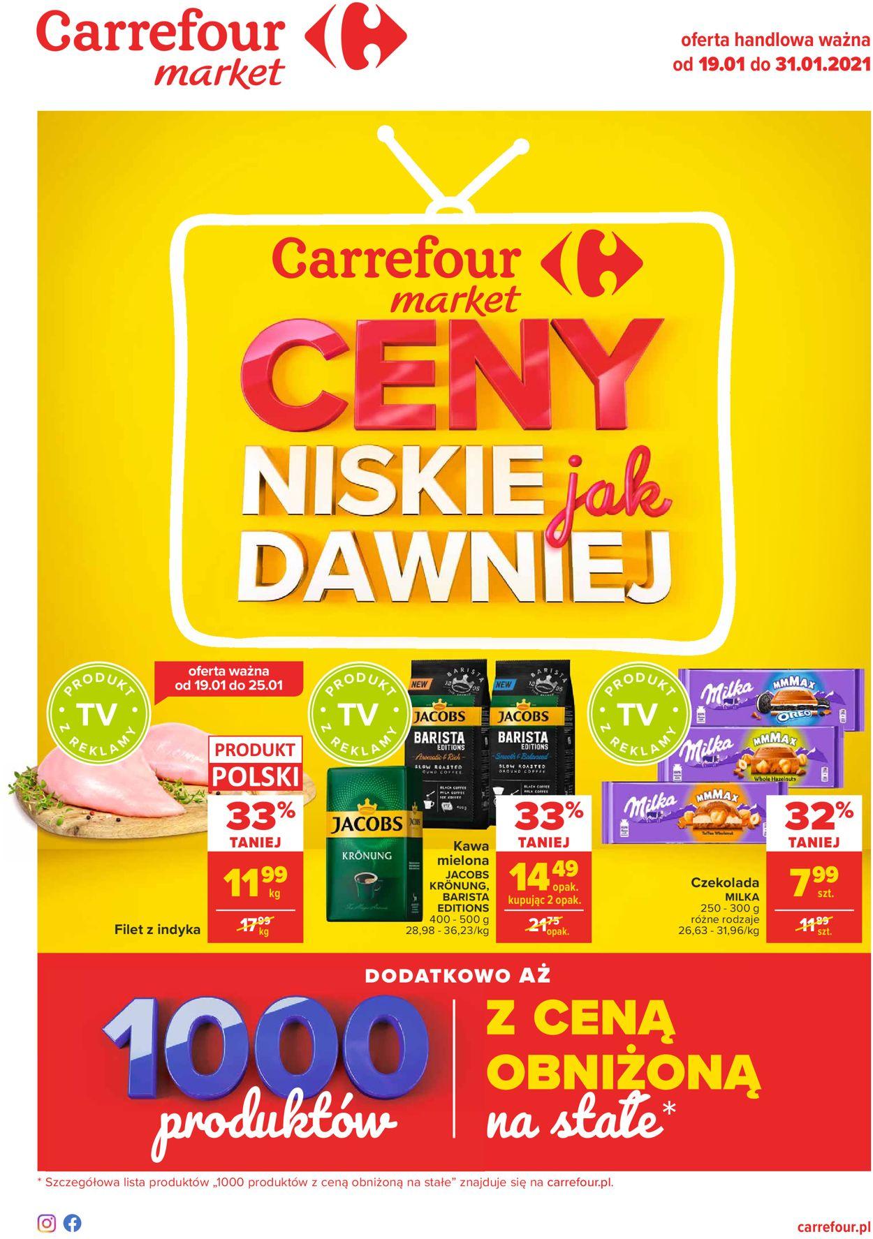 Gazetka promocyjna Carrefour Market Dzień Babci i Dziadka 2021 - 19.01-31.01.2021