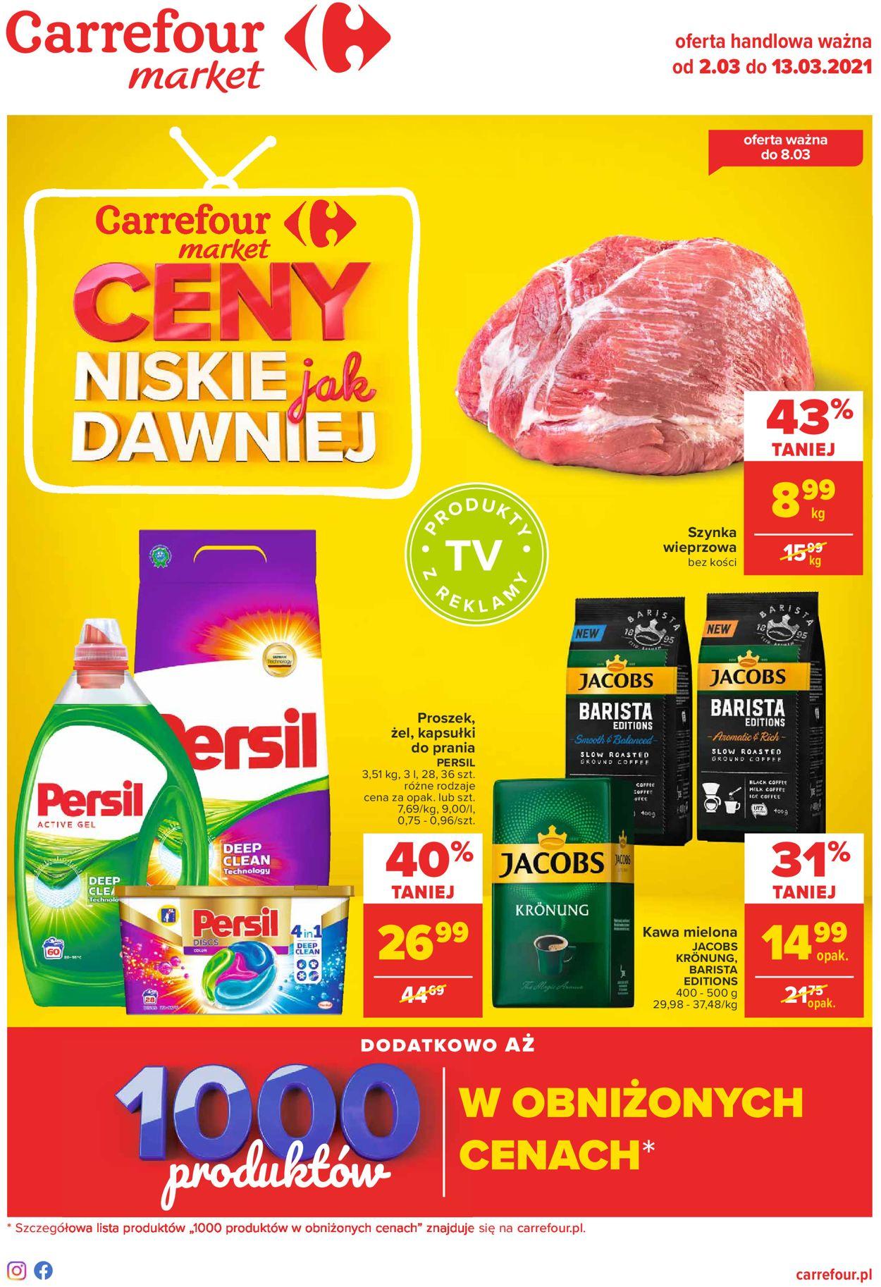 Gazetka promocyjna Carrefour Market - 02.03-13.03.2021