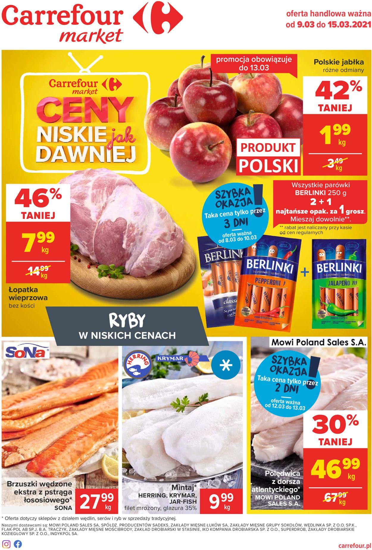 Gazetka promocyjna Carrefour Market - 09.03-15.03.2021