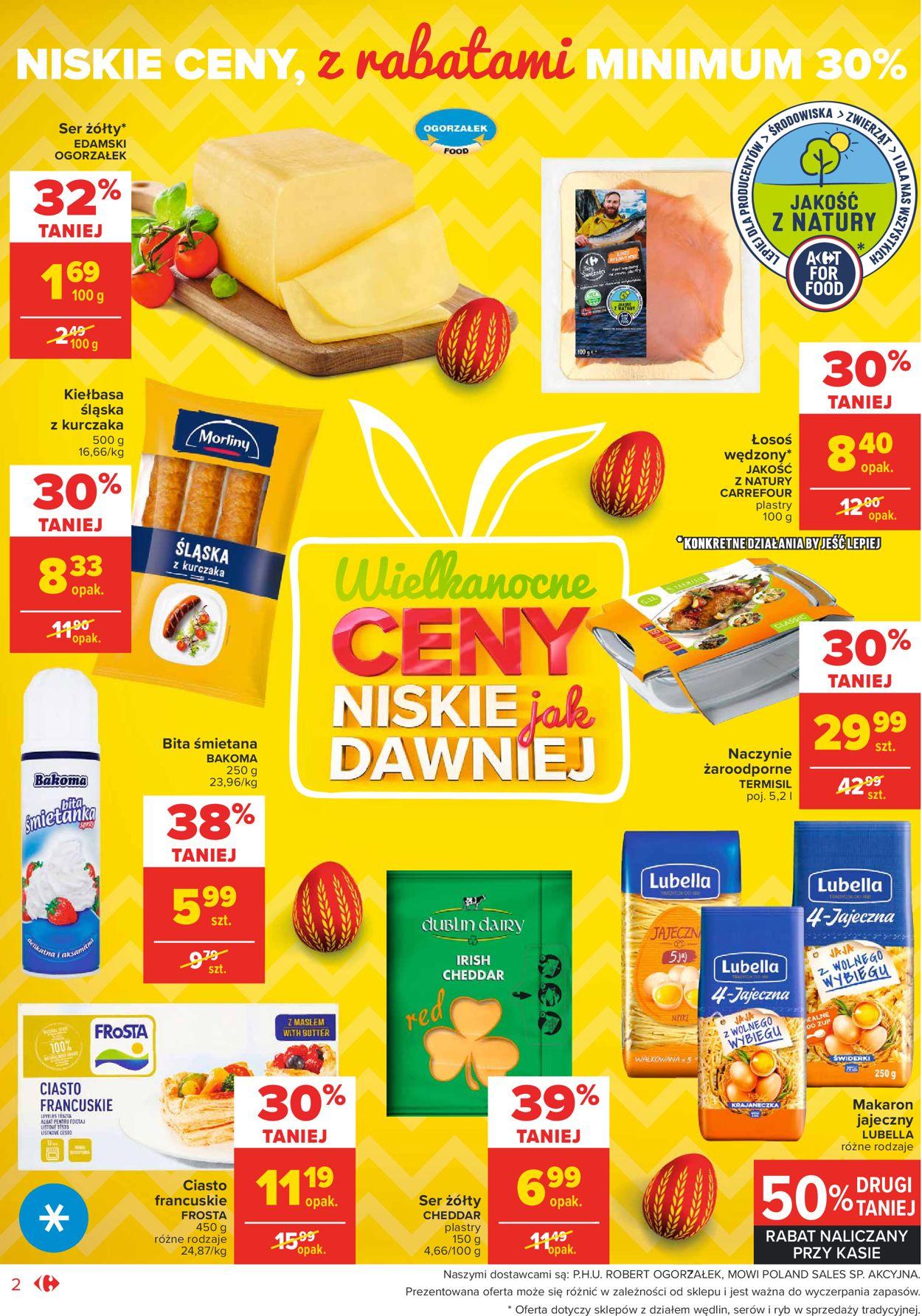 Gazetka promocyjna Carrefour Market Wielkanoc 2021 - 23.03-28.03.2021 (Strona 2)