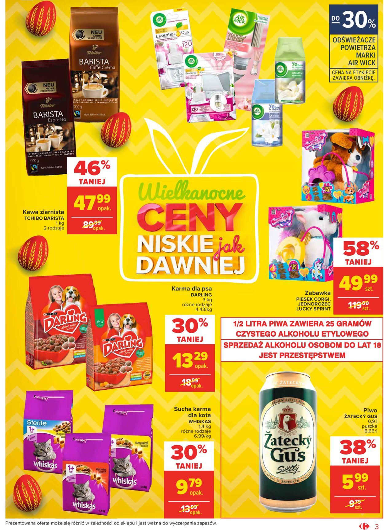 Gazetka promocyjna Carrefour Market Wielkanoc 2021 - 23.03-28.03.2021 (Strona 3)