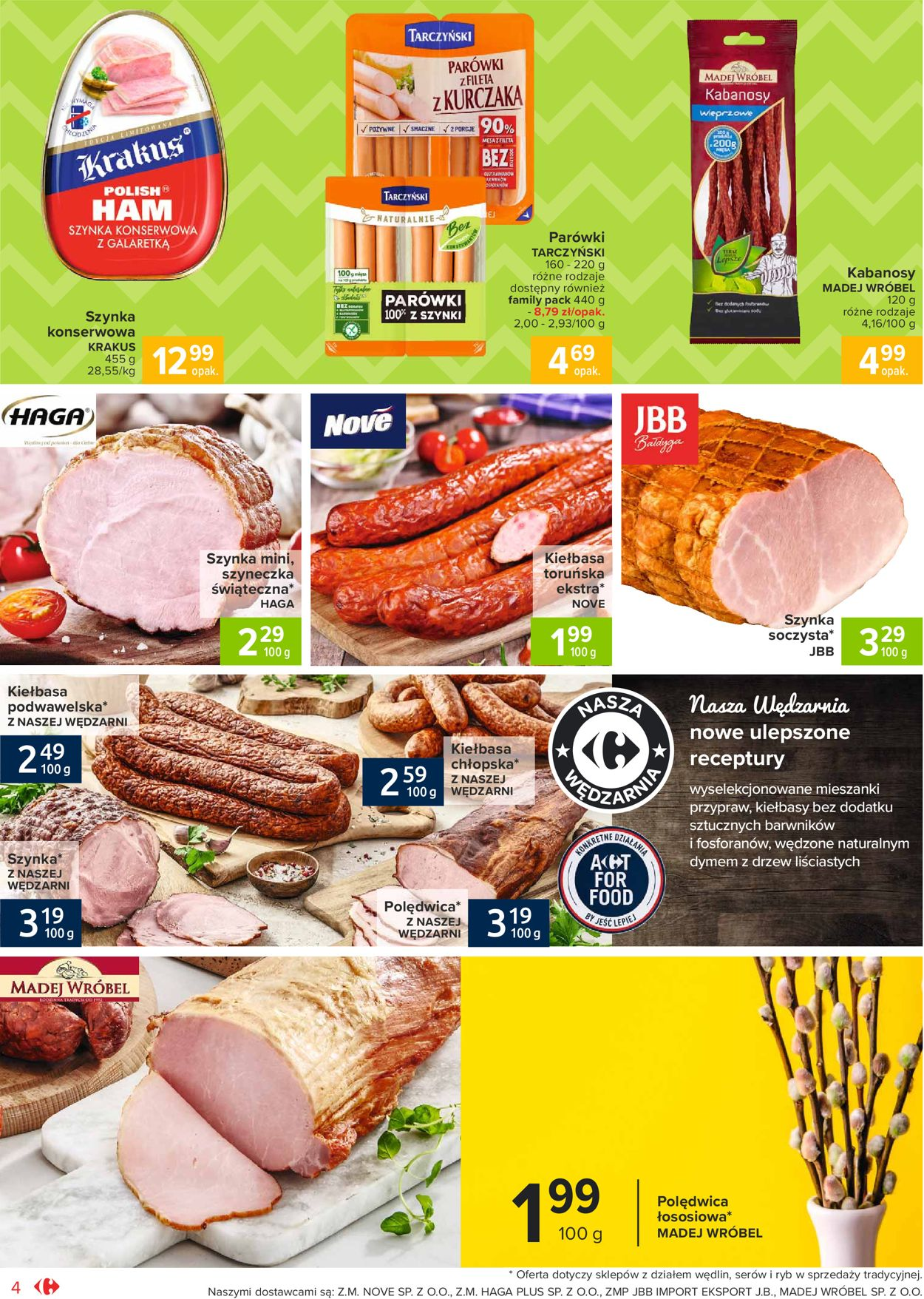 Gazetka promocyjna Carrefour Market Wielkanoc 2021 - 23.03-28.03.2021 (Strona 4)