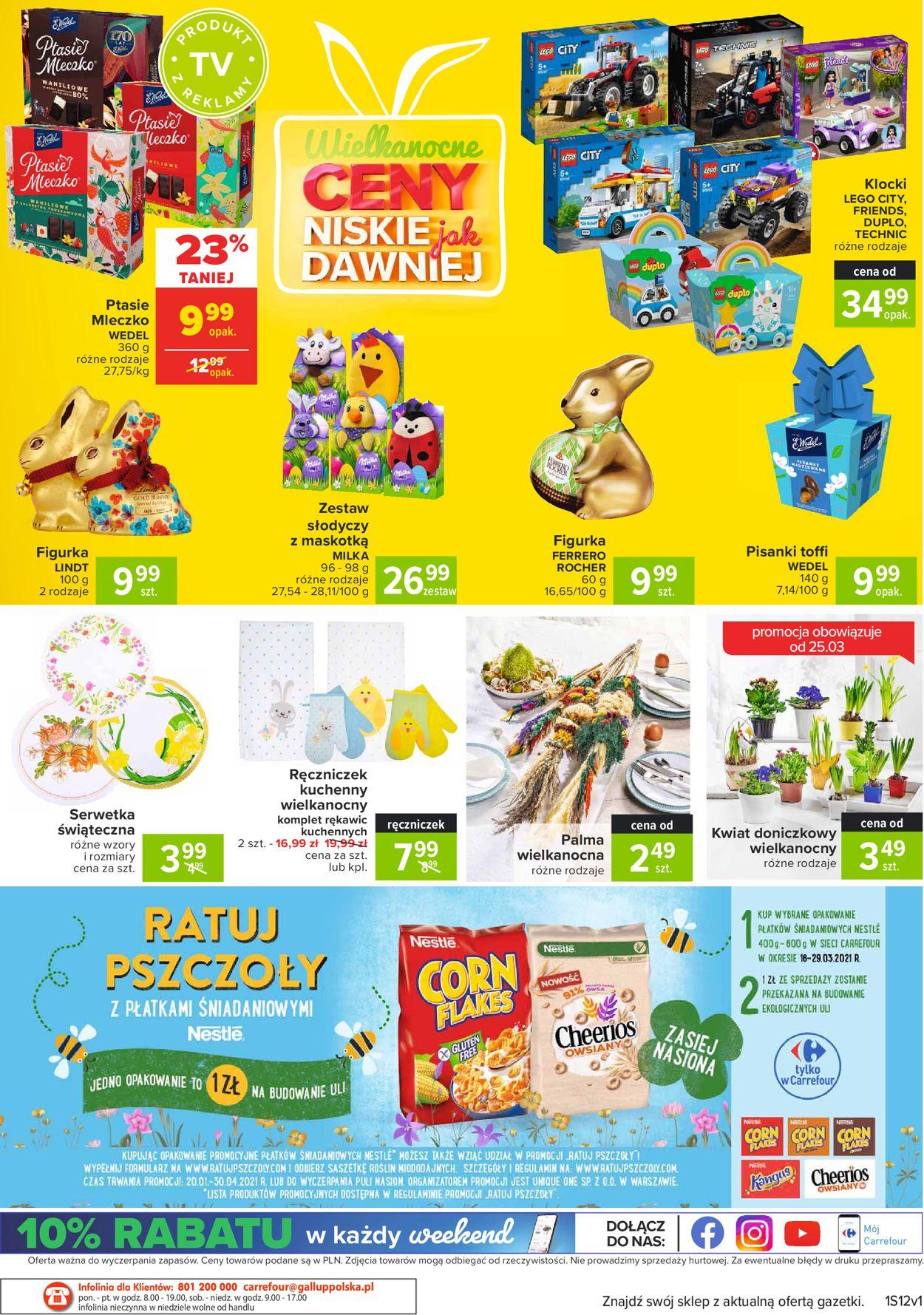 Gazetka promocyjna Carrefour Market Wielkanoc 2021 - 23.03-28.03.2021 (Strona 20)