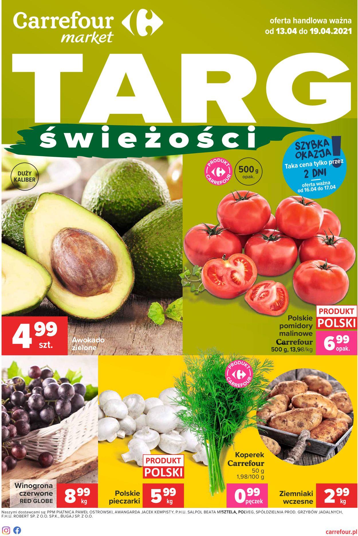 Gazetka promocyjna Carrefour Market - 13.04-19.04.2021