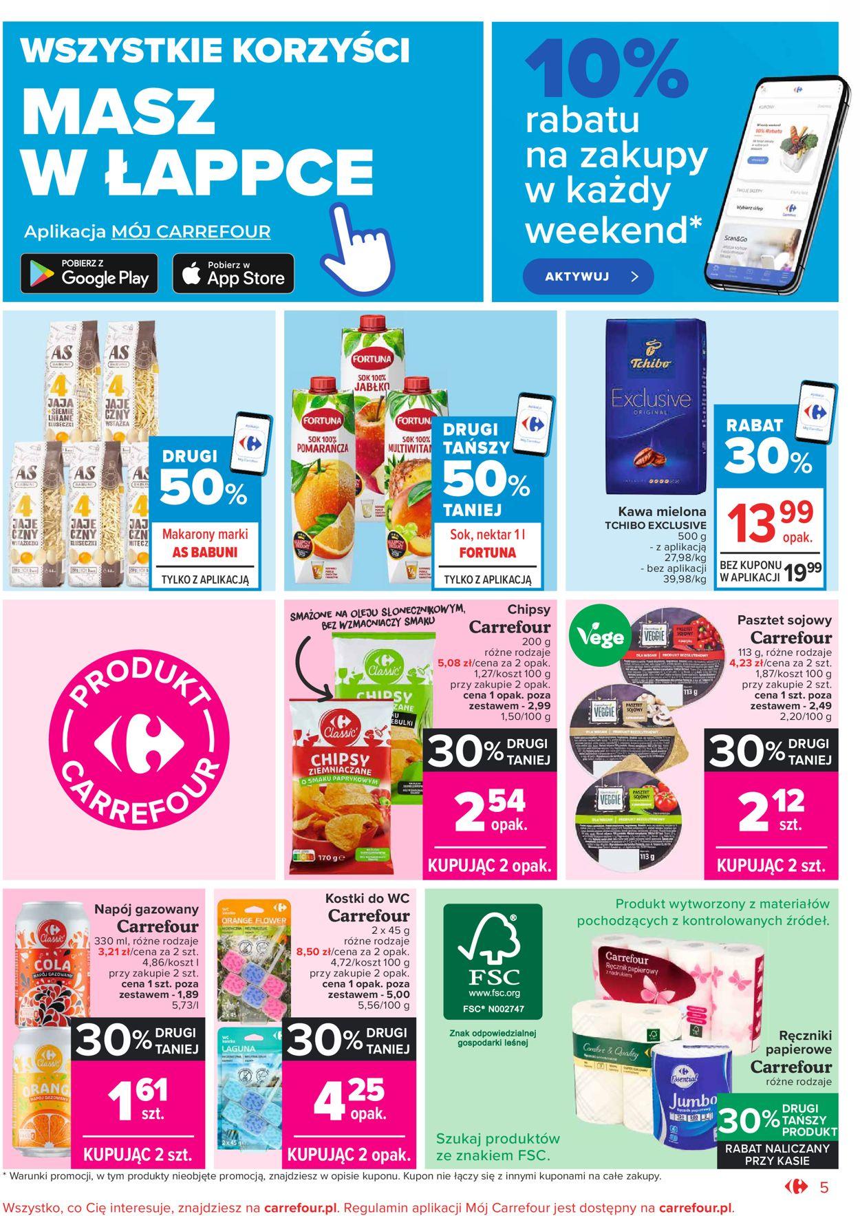Gazetka promocyjna Carrefour Market - 20.04-30.04.2021 (Strona 5)